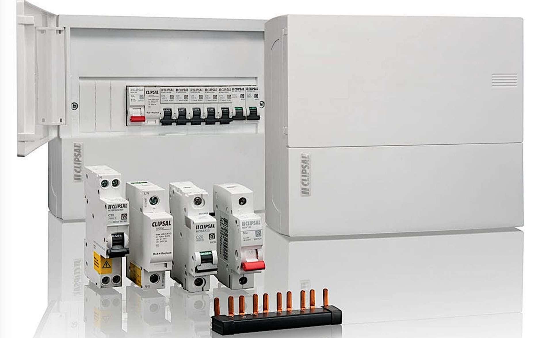 Le tableau de répartition est le cœur de l'installation électrique. © Clipsal