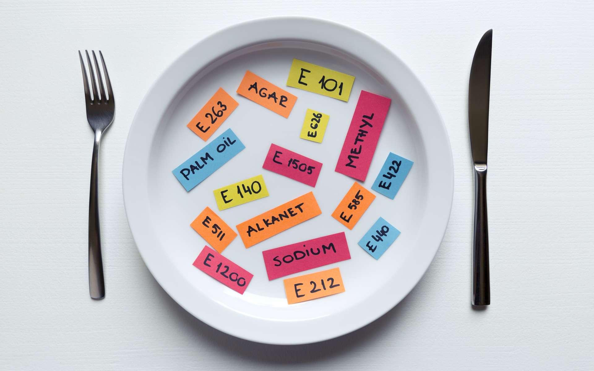 En France, la majorité (53 %) des produits transformés contiennent moins de 3 additifs (dont 22 % sans additifs). © artursfoto, Adobe Stock