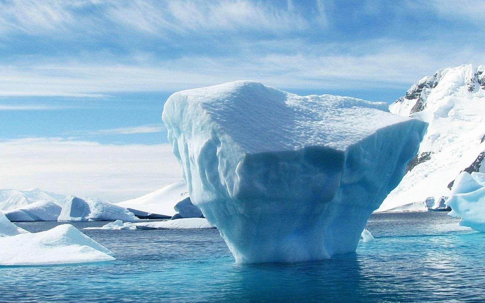 L'Antarctique détient le record de la température la plus froide jamais enregistrée : -90 degrés Celsius. © MemoryCatcher, Pixabay