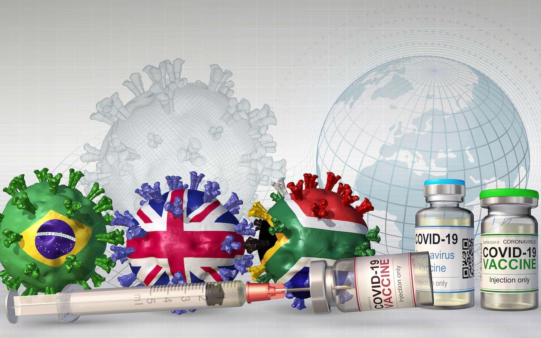 Des variants résistants aux vaccins sont plus susceptibles d'émerger lorsque la majeure partie la population est vaccinée. © Dana.S, Adobe Stock