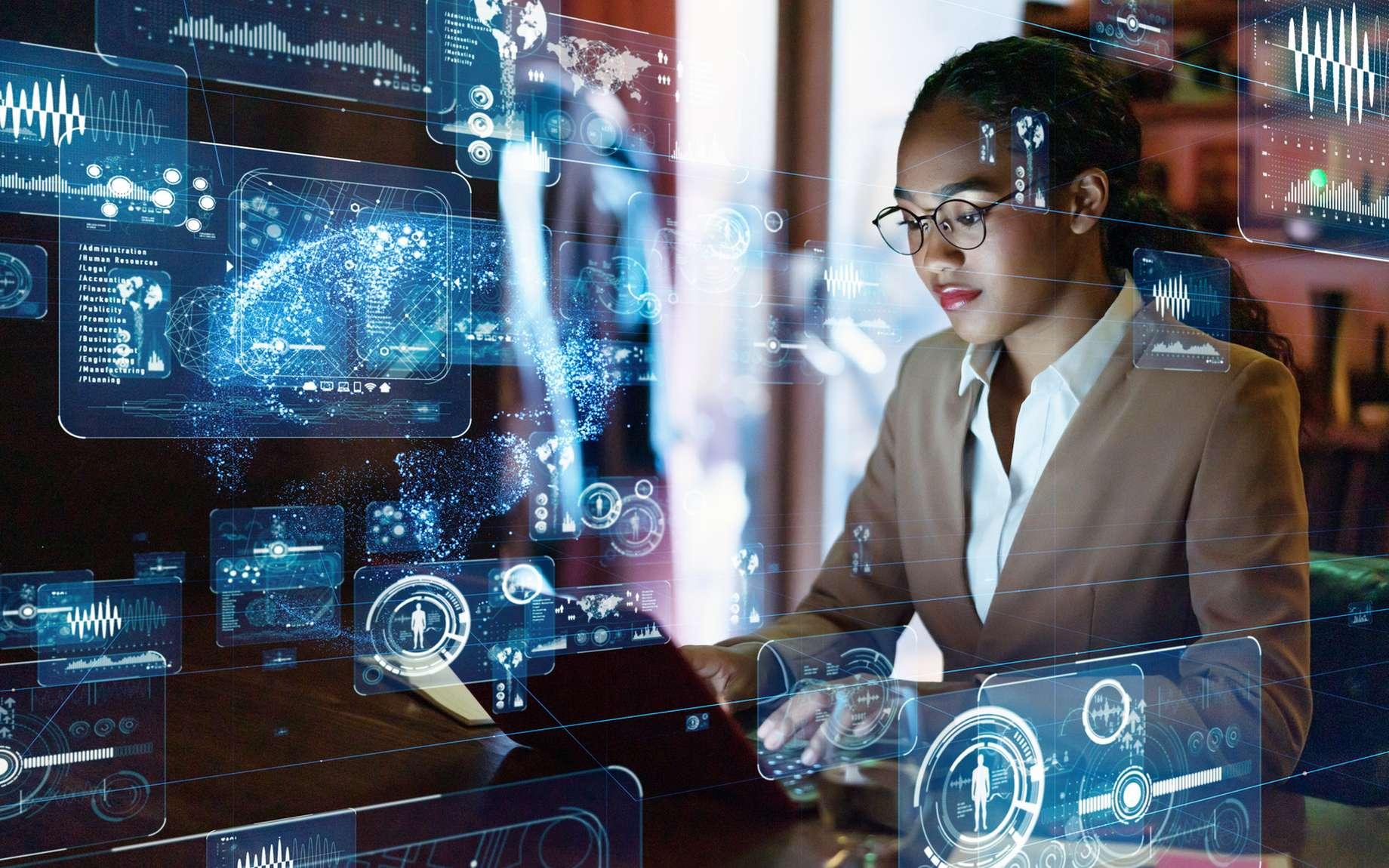 Responsable de grands volumes de données, le data engineer développe des infrastructures de données et en assure leur bon fonctionnement. © metamorworks, Fotolia.