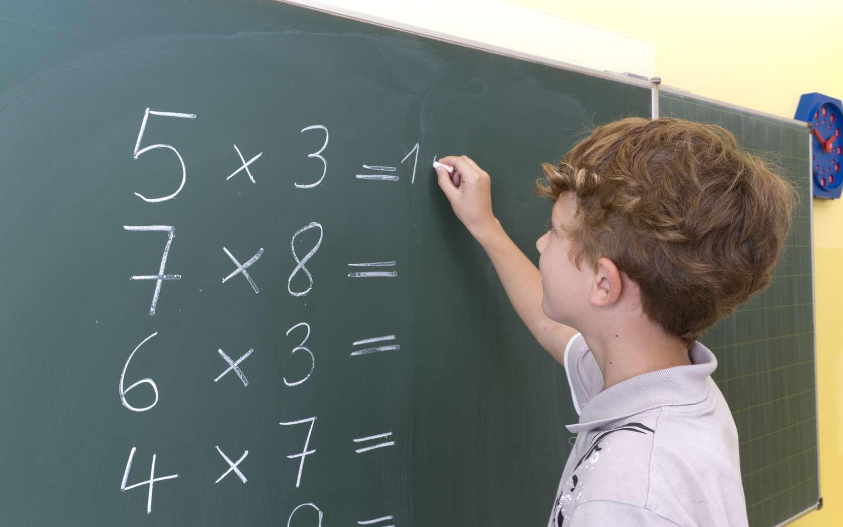 Un algorithme pour multiplier deux grands nombres plus rapidement. © robertmandel138, Fotolia