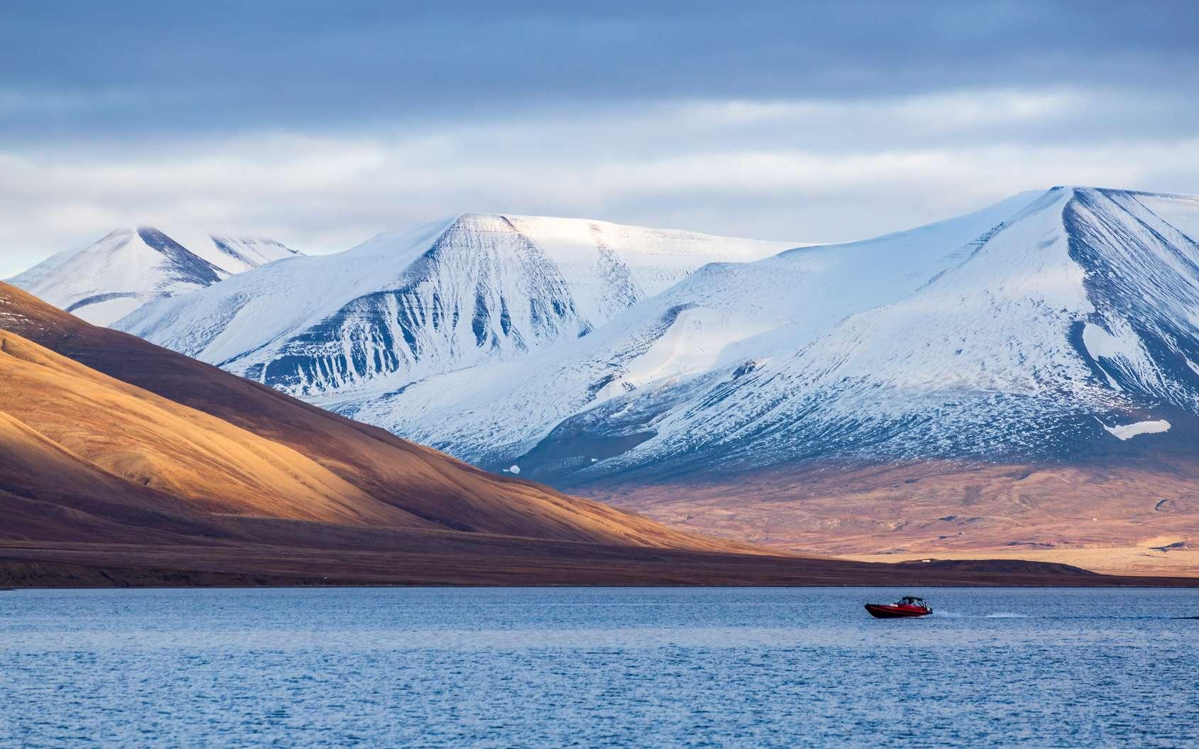 C'est sur l'archipel du Svalbard (Norvège), tout au nord de l'océan Atlantique, qu'a été lancé le projet de Réserve mondiale de semences, destiné aux générations futures. © Morten, Fotolia