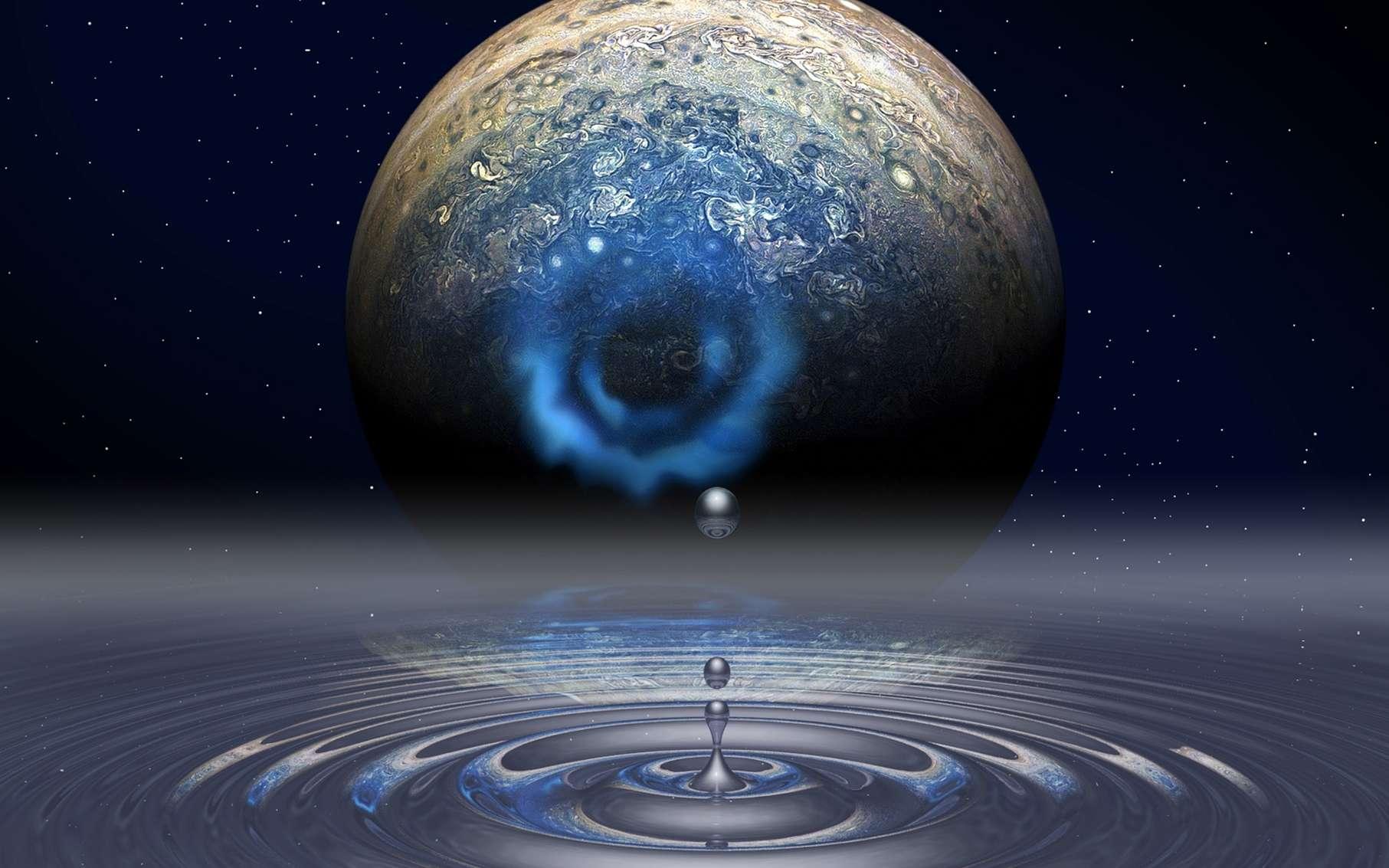 L'étude de l'hydrogène métallique nous permettrait de mieux comprendre Jupiter (la géante gazeuse en contiendrait en son cœur). Cela pourrait aussi nous mener vers la maîtrise d'un supraconducteur à température ambiante, ce qui bouleverserait probablement notre technologie. © Mark Meamber