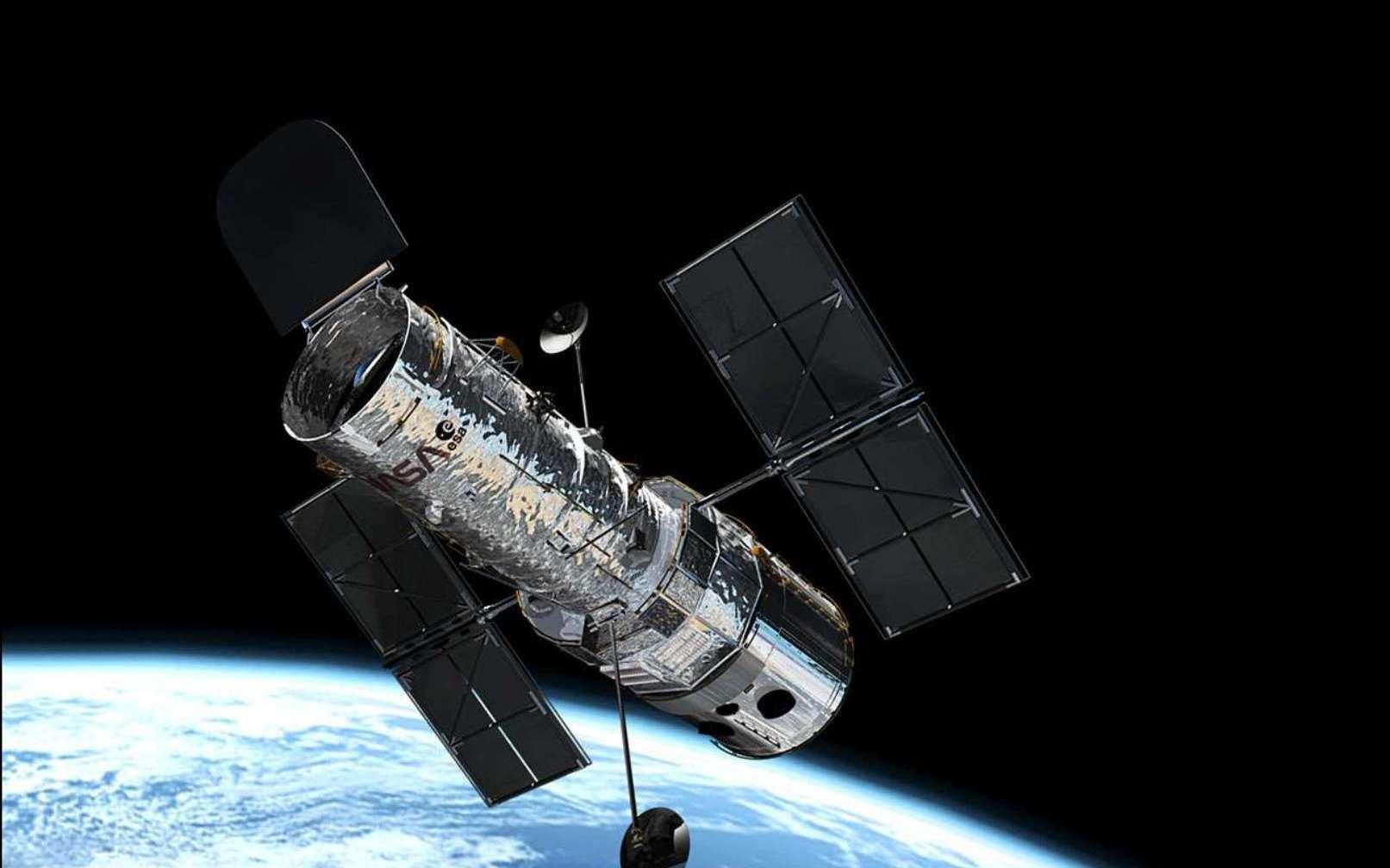 Les observations du télescope spatial Hubble ont permis à des astronomes d'identifier l'emplacement de cinq sursauts radio rapides. © ESA