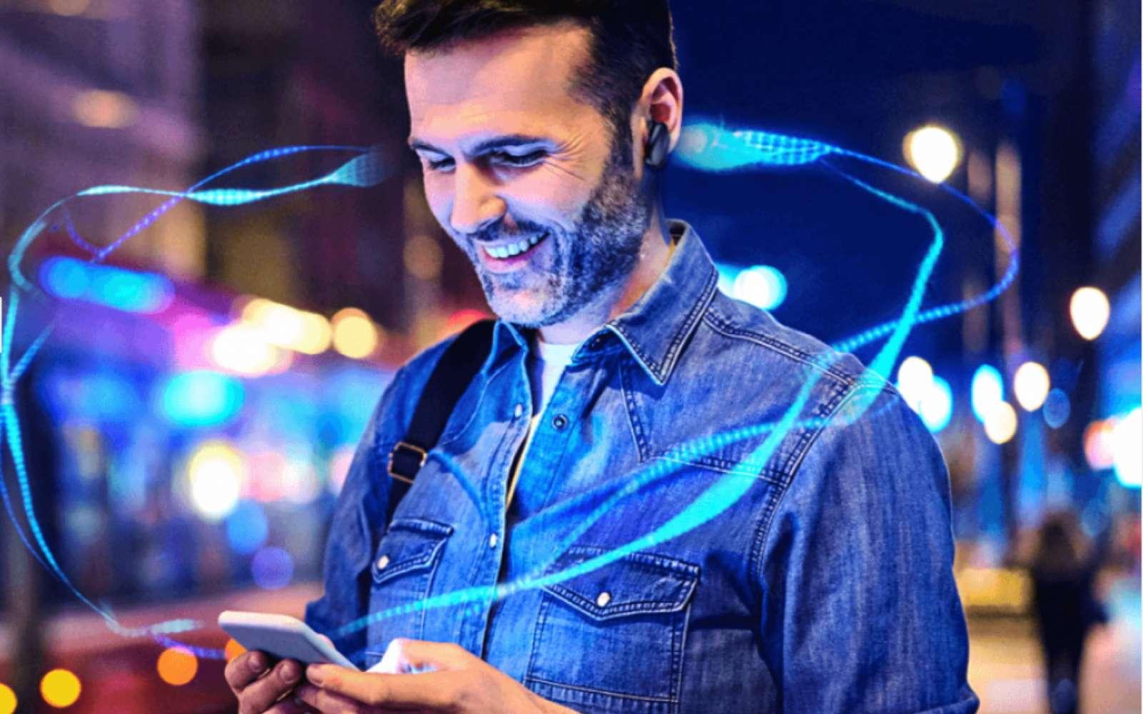 Le fondeur Qualcomm vise le combo smartphone/système audio sans fil haut de gamme pour son label Snapdragon Sound. © Qualcomm
