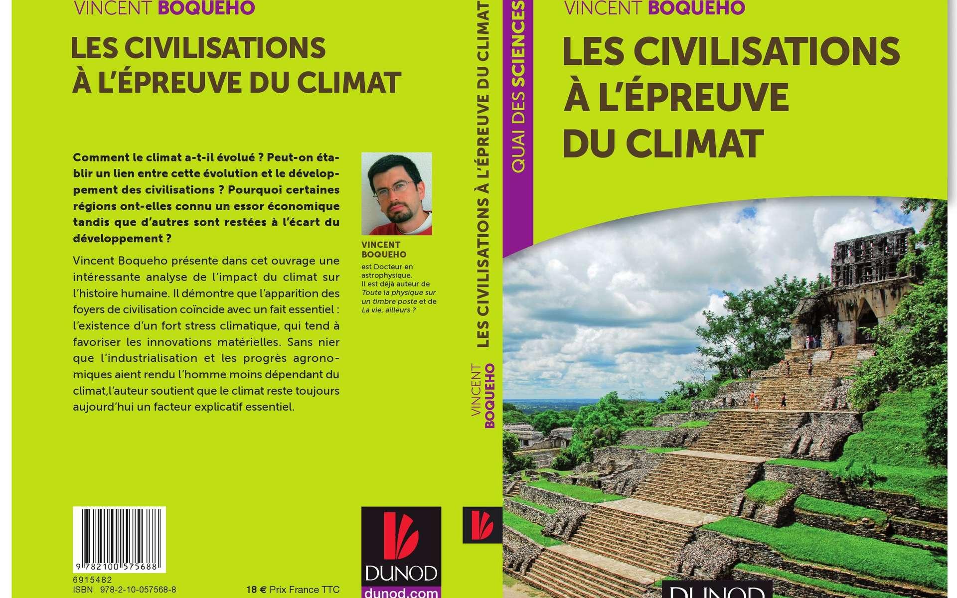 Les civilisations à l'épreuve du climat, de Vincent Boqueho, aux éditions Dunod. © Dunod