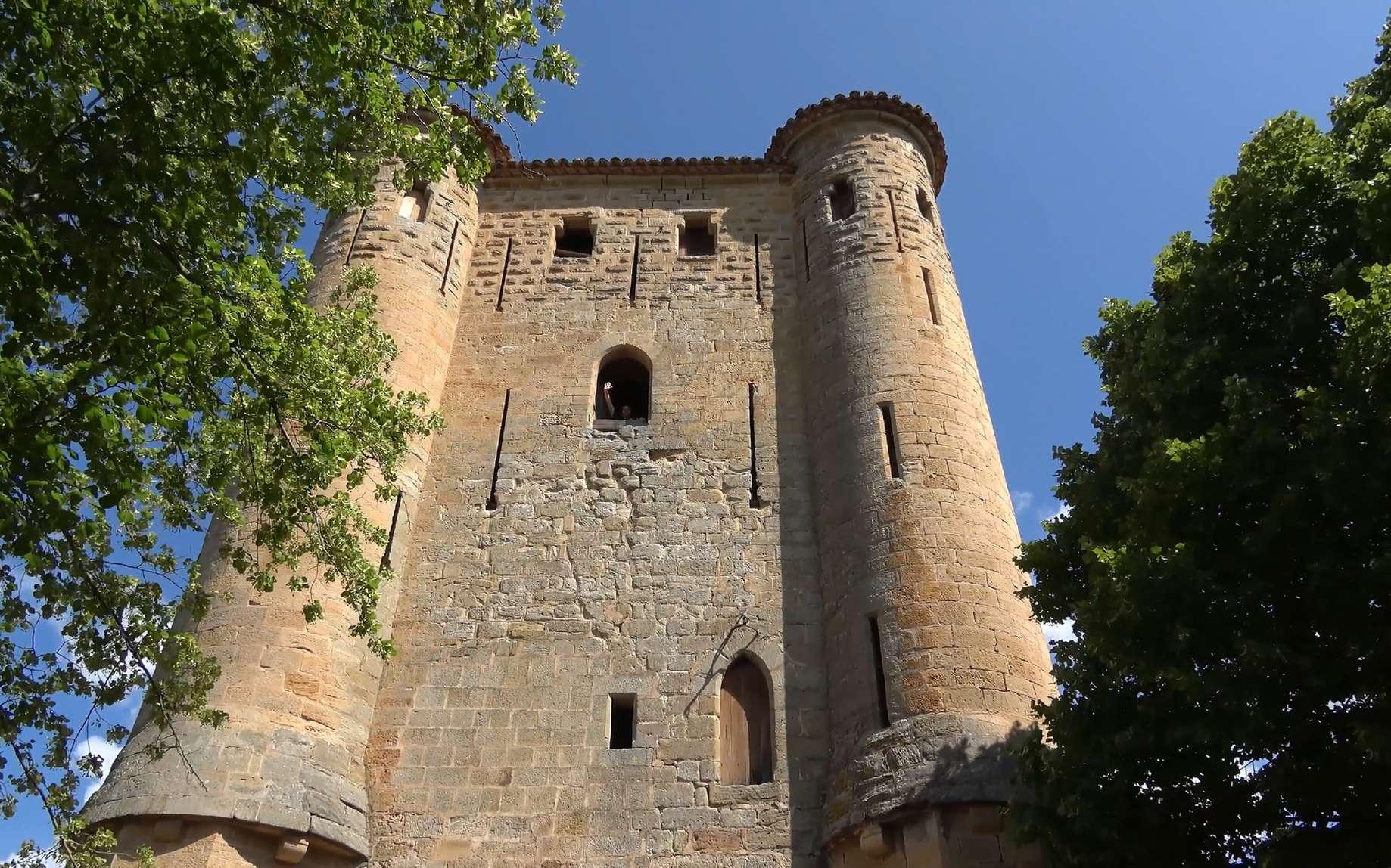 Château médiéval en Pays Cathare. © Daoud, fotolia