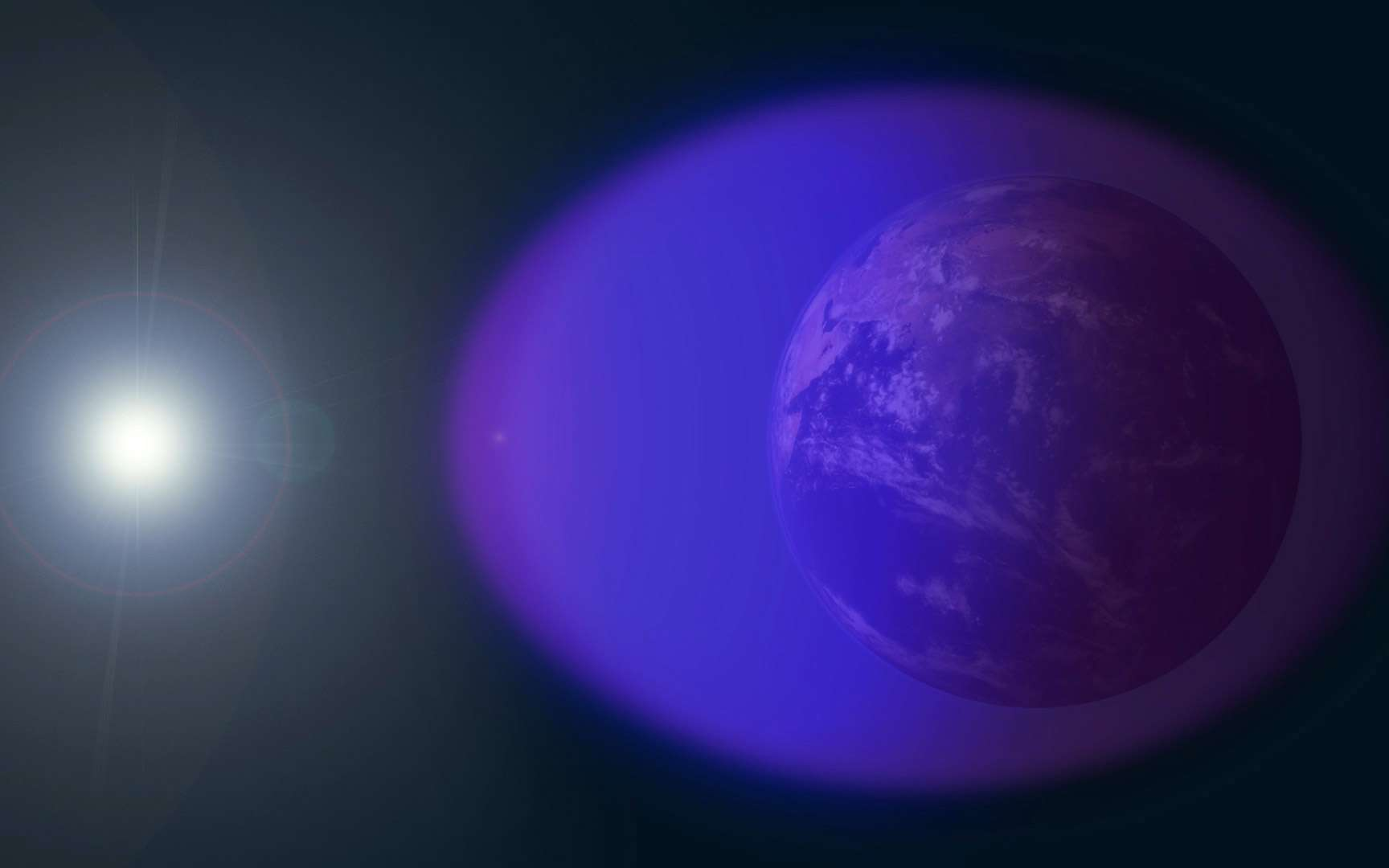 L'ionosphère est une des régions de l'atmosphère. Elle se situe entre 80 et 500 kilomètres et contient quatre couches distinctes. © Nasa, GSFC, Duberstein