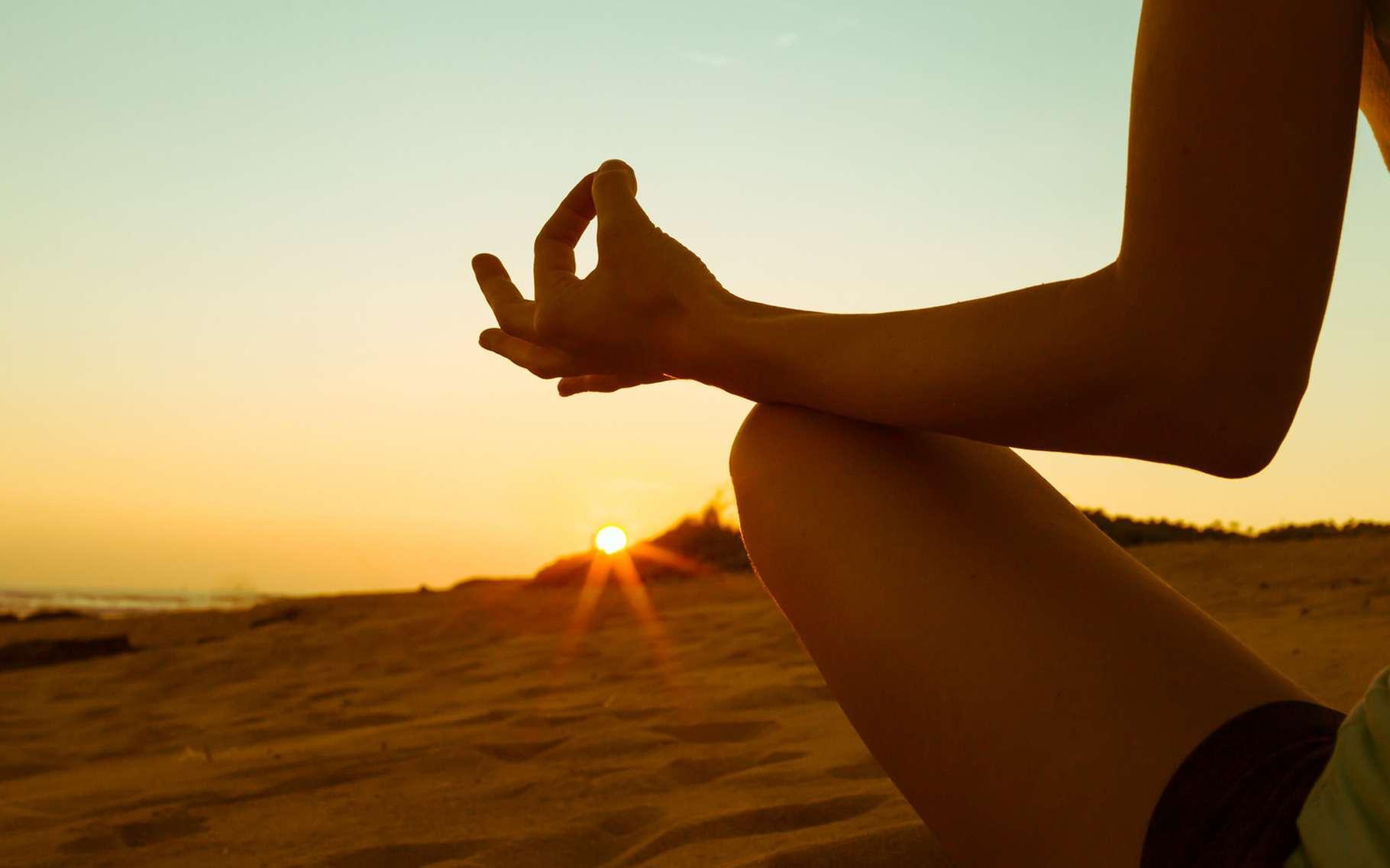 La méditation peut servir à améliorer le bien-être de l'individu. © KieferPix, Shutterstock