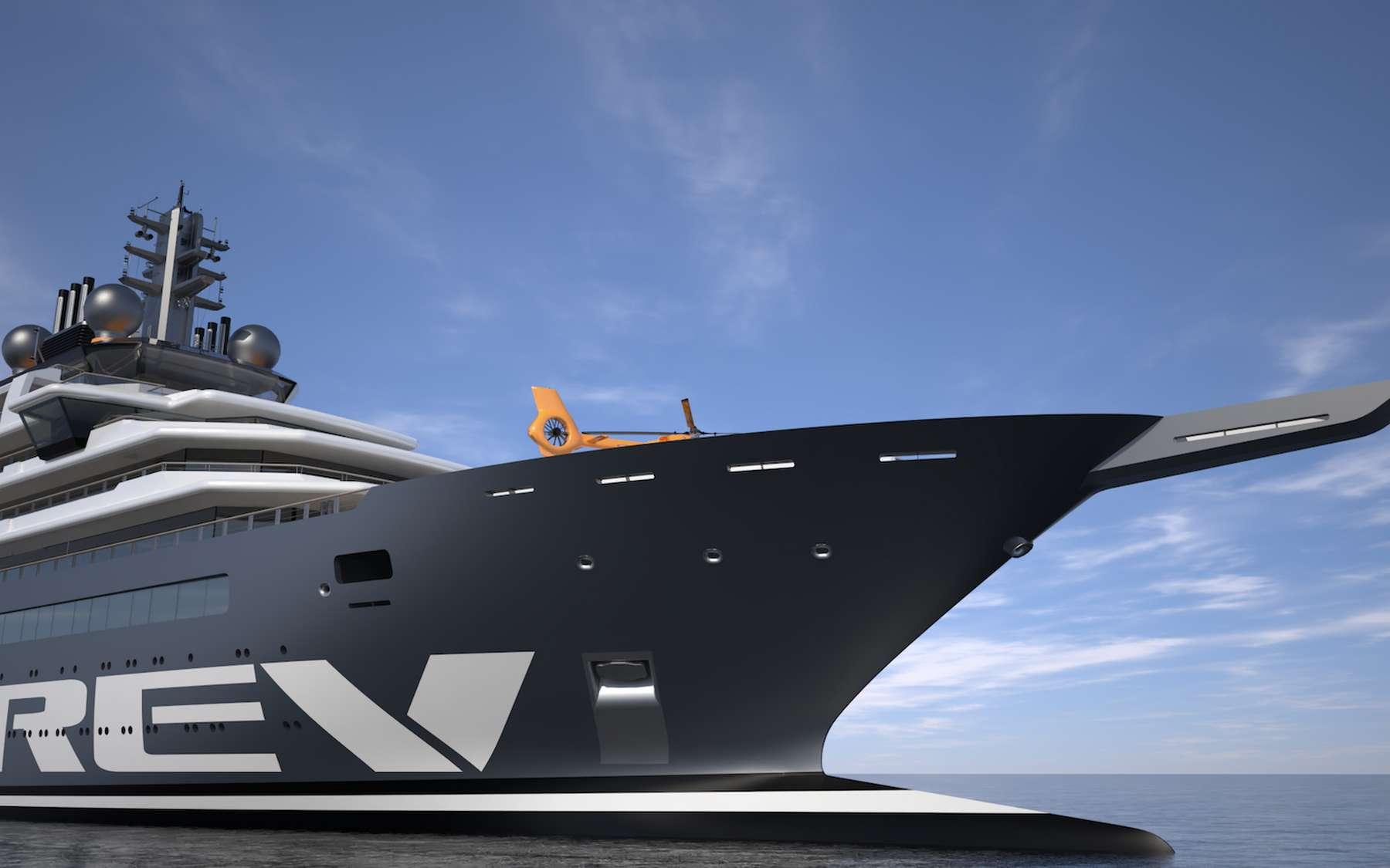 Kjell Inge Røkke a dépensé près de 450 millions d'euros pour la construction et l'exploitation du REV. © REV Ocean