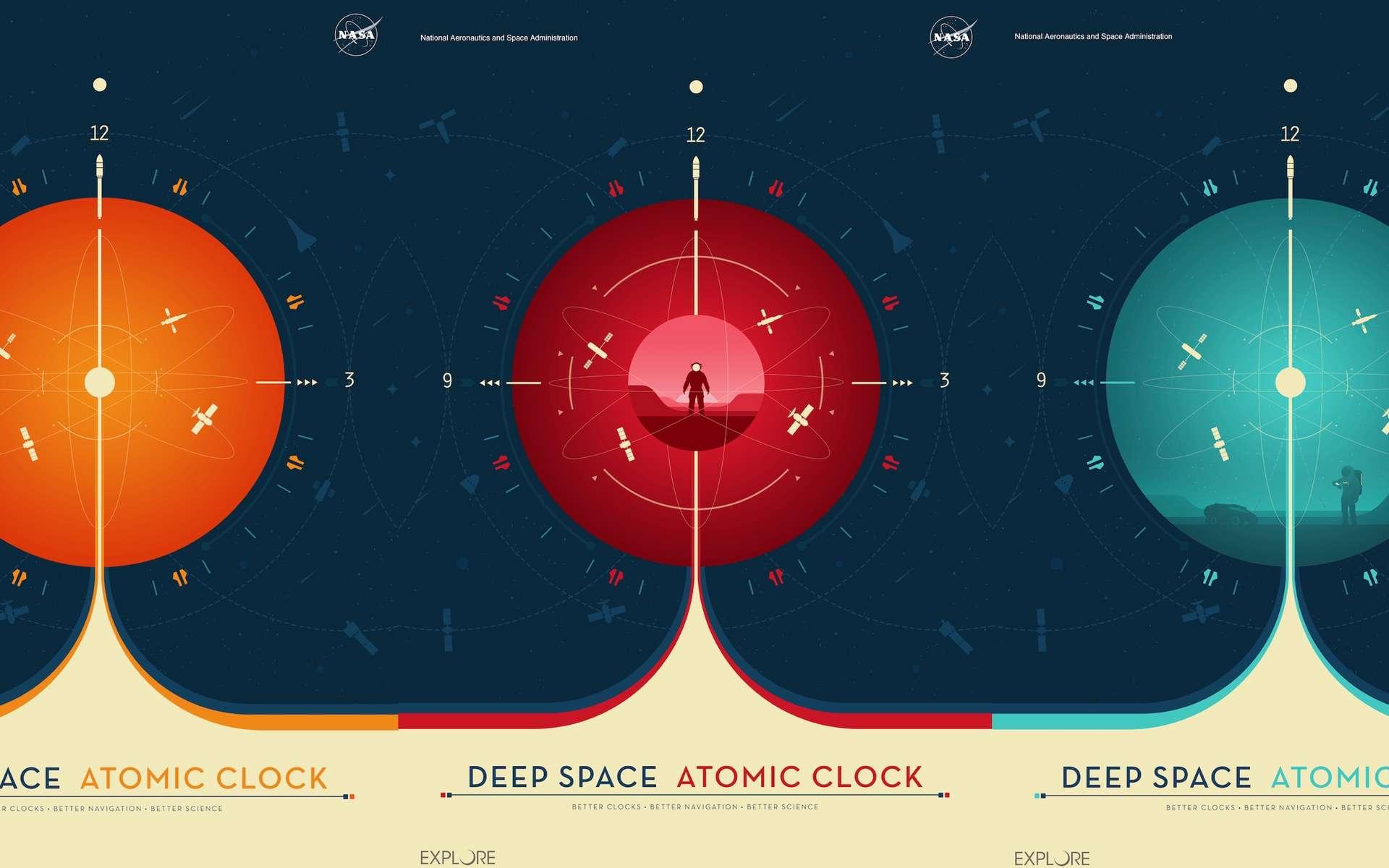 La Deep Space Atomic Clock est l'horloge atomique spatiale la plus précise jamais lancée. © Jet Propulsion Laboratory