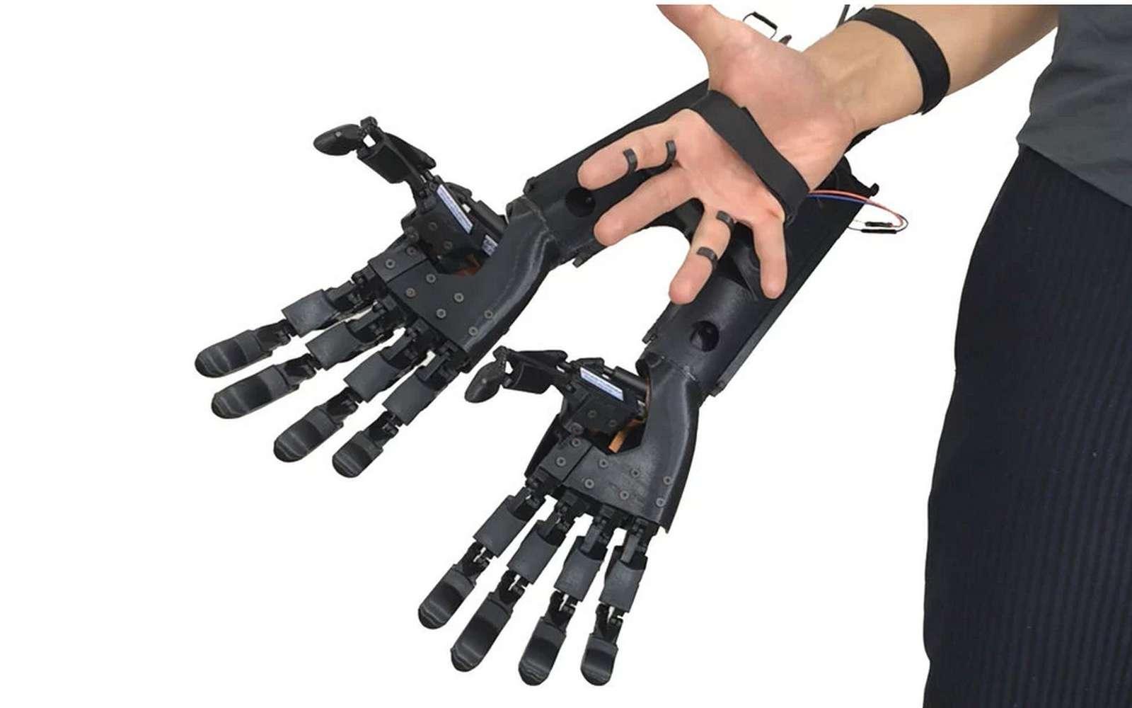 Une bien étrange extension de la main, mais qui fonctionne vraiment. © Youbionic
