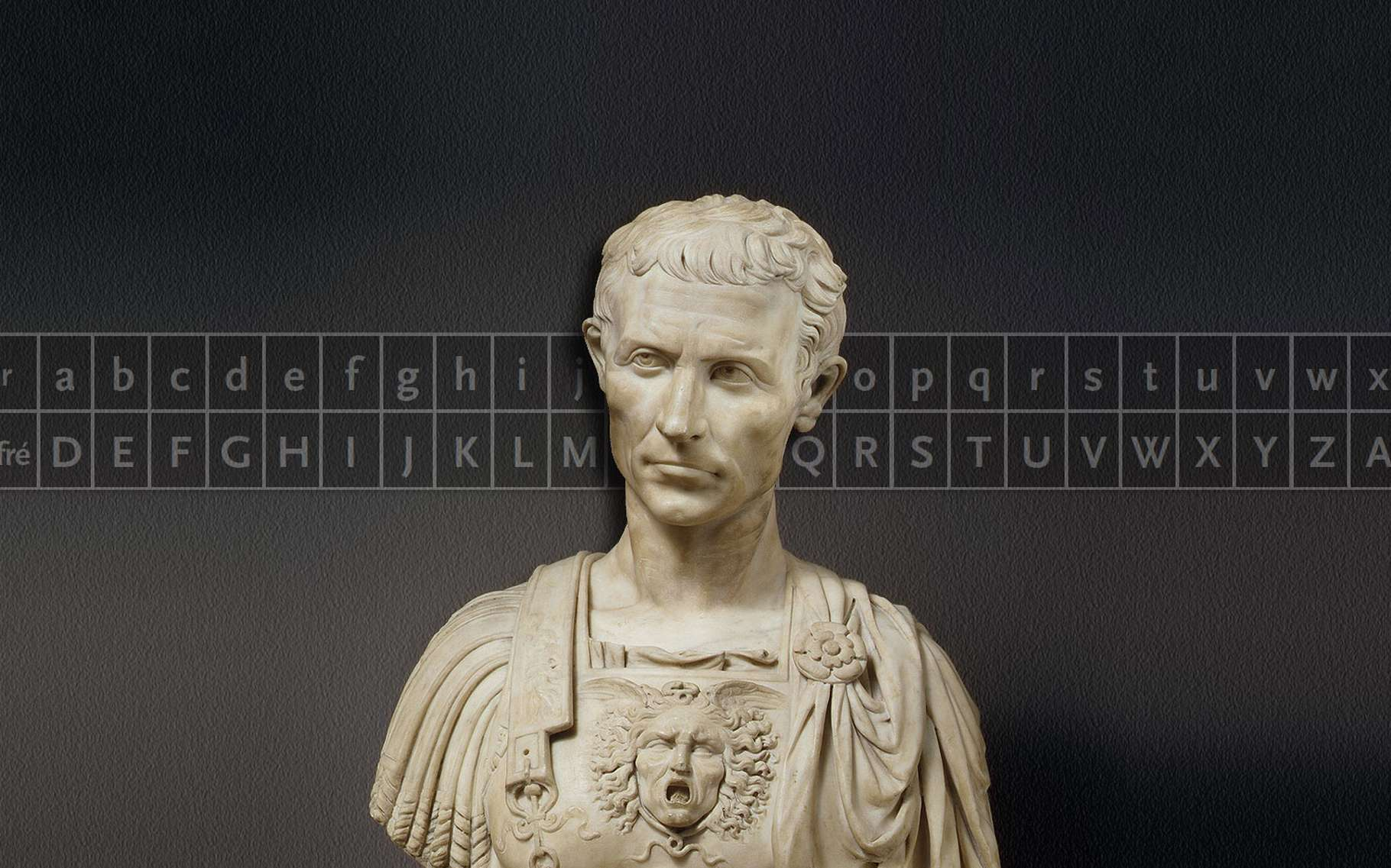 César et le chiffrement. © Metmuseum, Wikimedia commons, DP