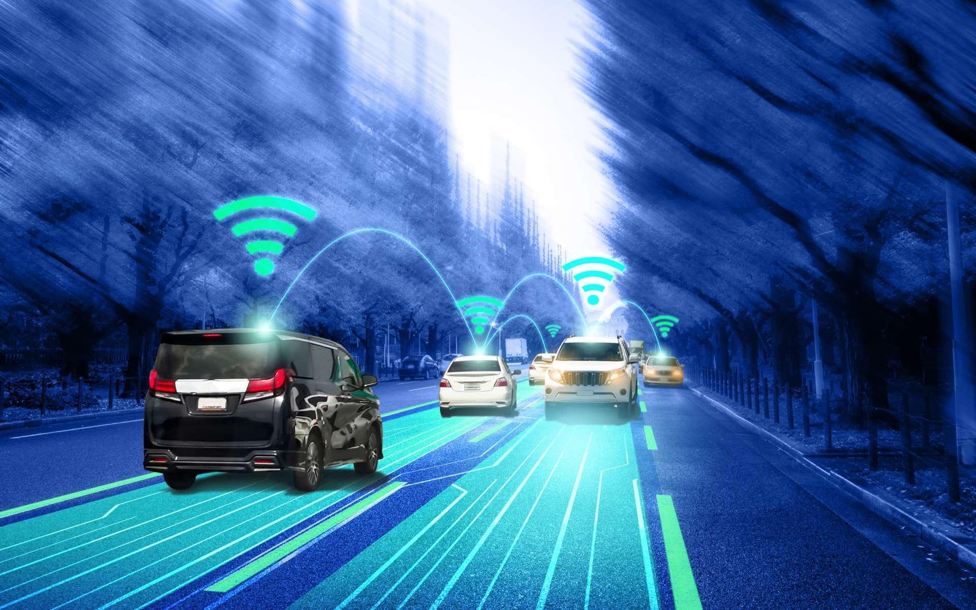 Les voitures autonomes vont redessiner nos usages et nos déplacements urbains. © Blue Planet Studio, Adobe Stock