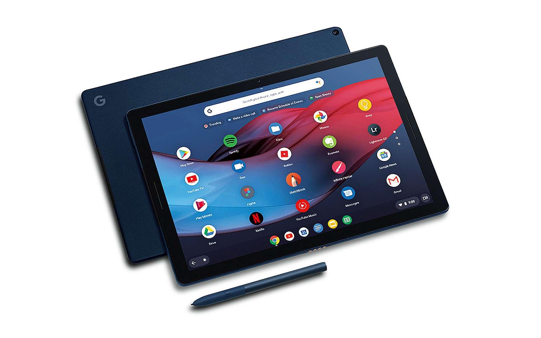 D'un balayage de la main, on pourra bientôt passer d'une application à une autre ou d'un onglet à un autre dans Chrome OS. © Google