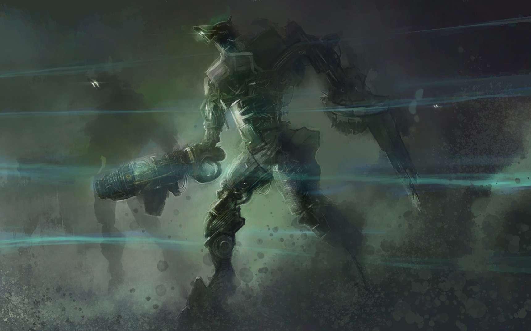 Le terribles robots de l'armée de Krikkets, armés jusqu'aux dents, parcourent l'Univers à la recherche des clefs leur permettant de libérer leurs terribles maîtres. © David Edwards, Adobe Stock