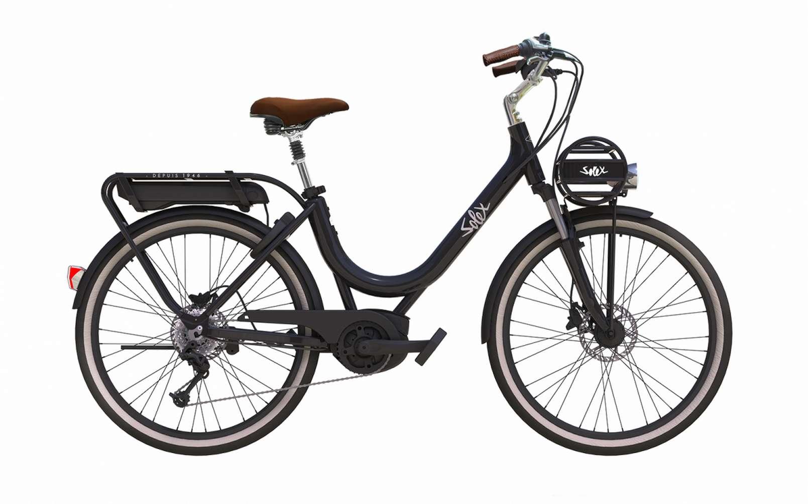 Le Solex fait son retour en vélo électrique