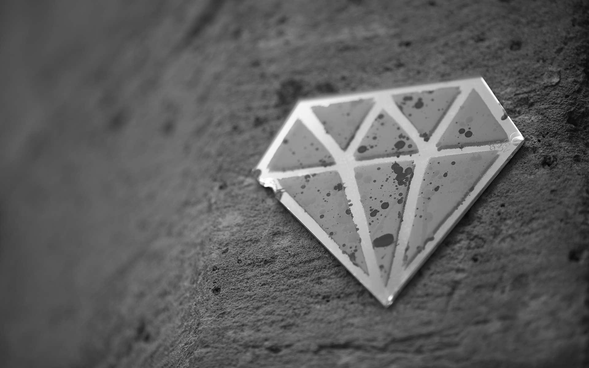 Le diamant est l'un des matériaux, dans son état solide, les plus durs qui soient. © Alexandre Dulaunoy, Flickr, CC by-sa 2.0