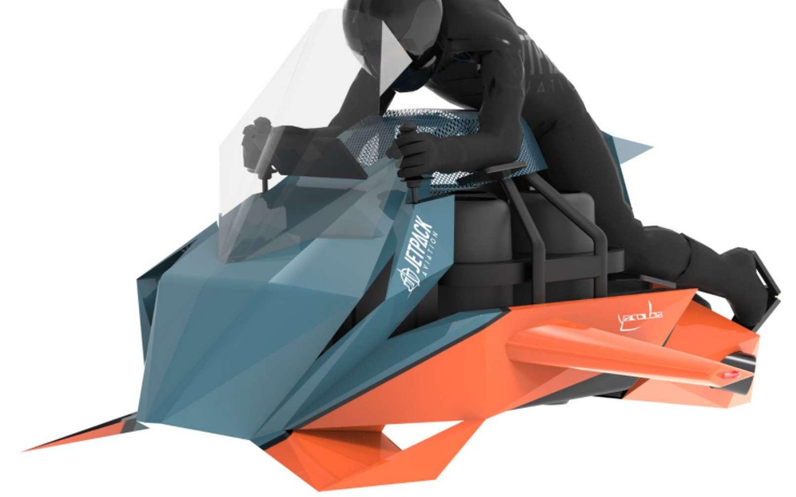 La moto volante Speeder de JetPack Aviation. © JetPack Aviation