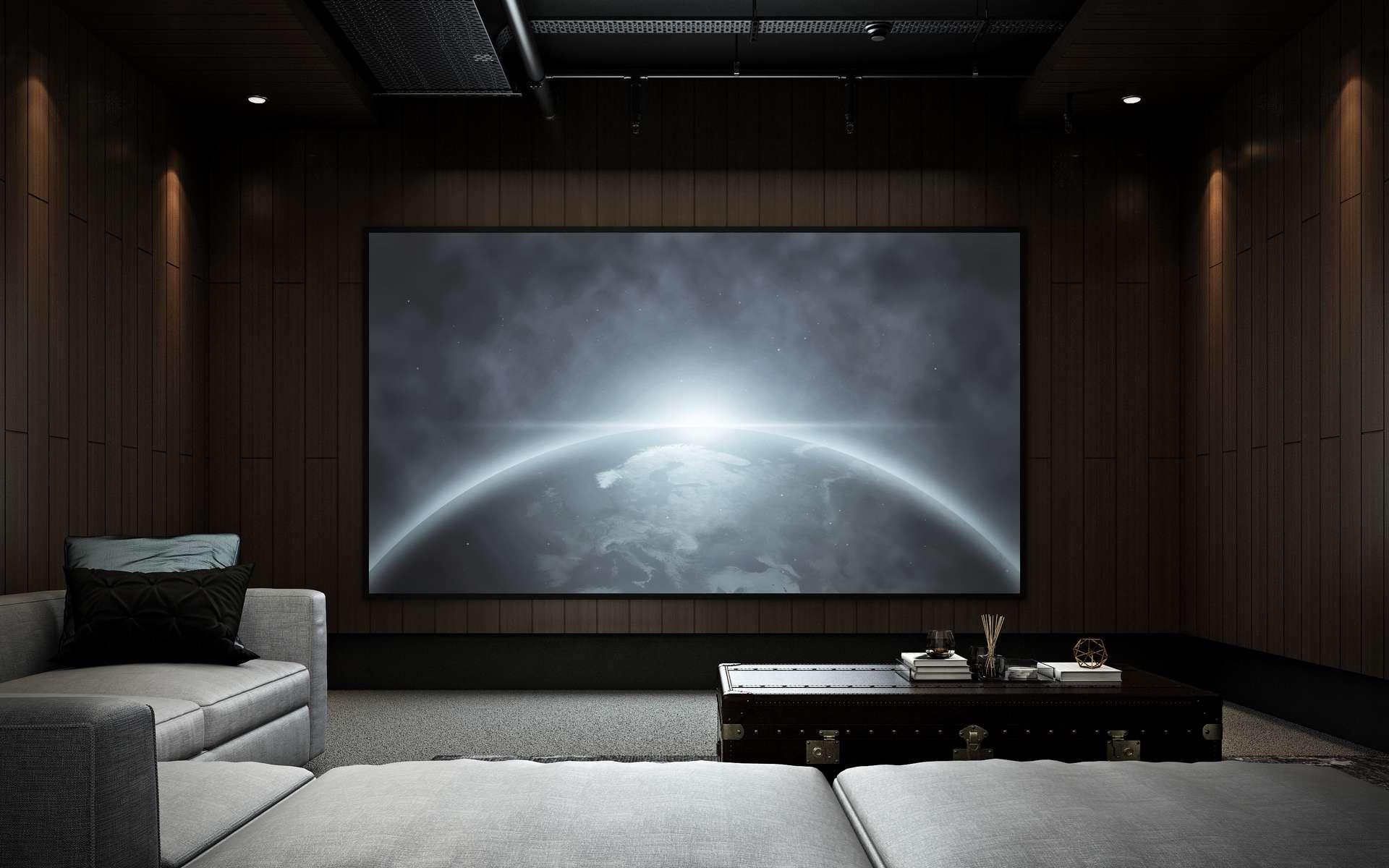 Le cinéma à la maison. © P11irom, Adobe Stock