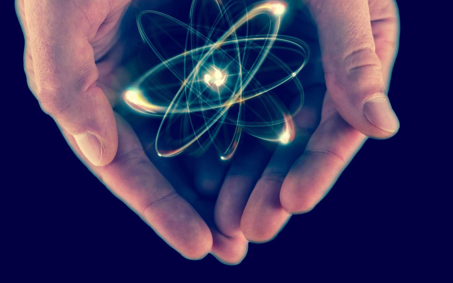 Les atomes sont au cœur de la matière. © Ezume Images, Shutterstock