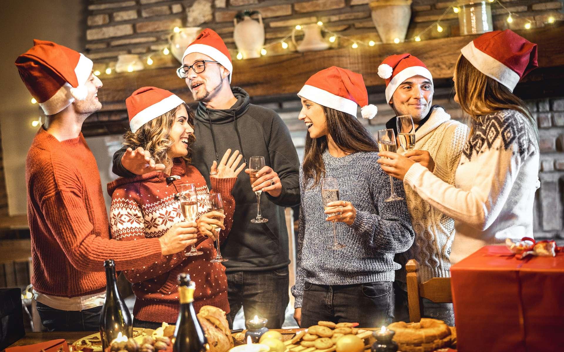 Passer Noël avec sa belle famille : un choix lourd de conséquence pour notre microbiote. © Mirko, Adobe Stock