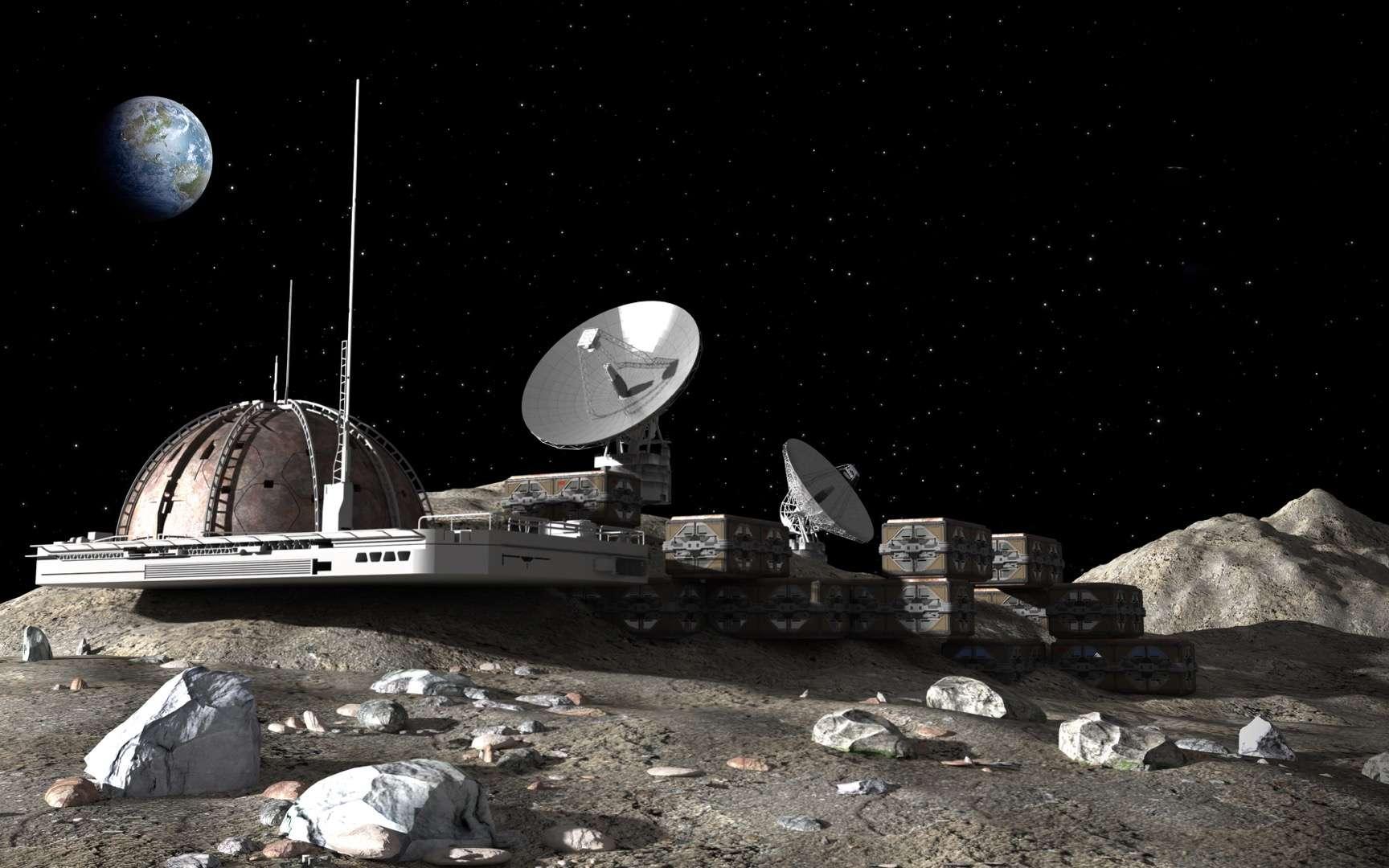 De la science-fiction à l'élaboration du projet, une usine dans l'espace se profile à l'horizon 2023. © 3000ad, Adobe Stock