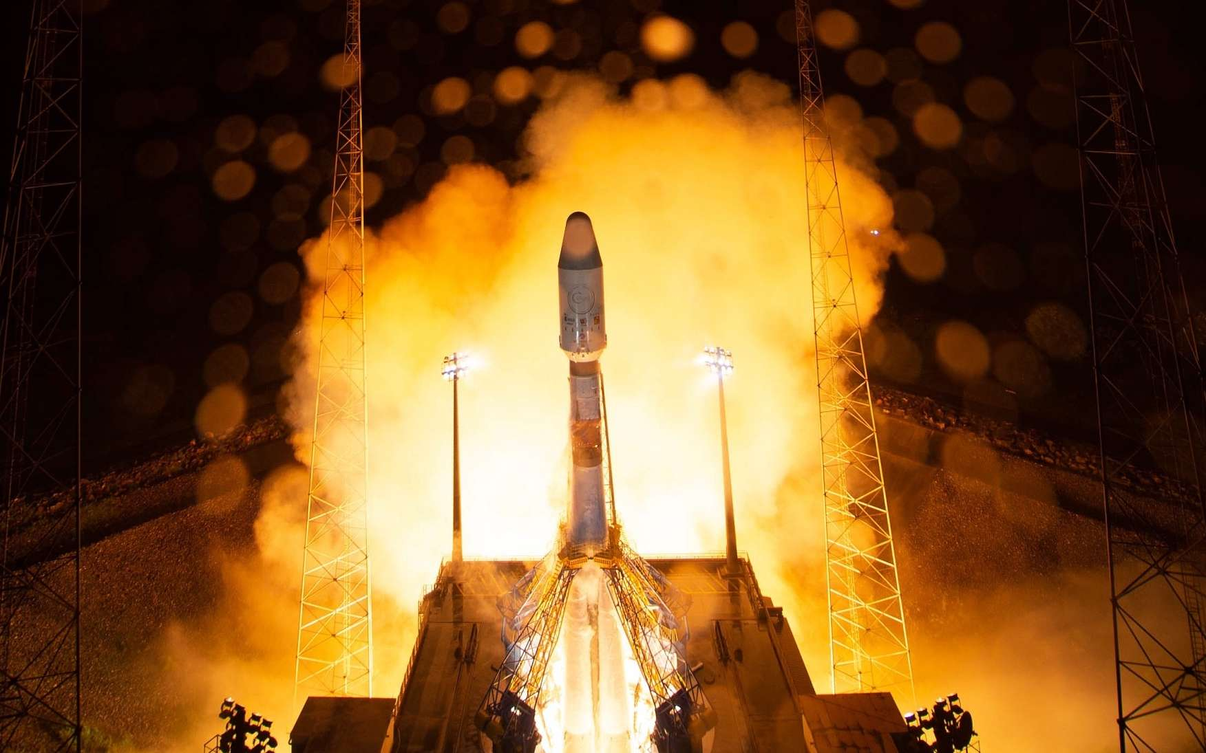 Lancement réussi du satellite Cheops. © ESA, S. Corvaja
