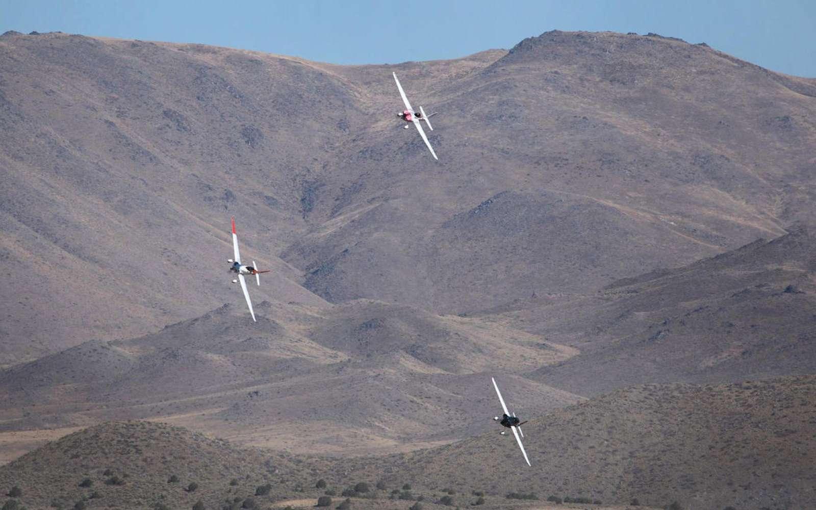 Le futur avion électrique de course reprendra la cellule des appareils actuels à moteurs thermiques. Le premier prototype conçu par les partenaires de la Air Race E servira de modèle de référence. © Air Race 1