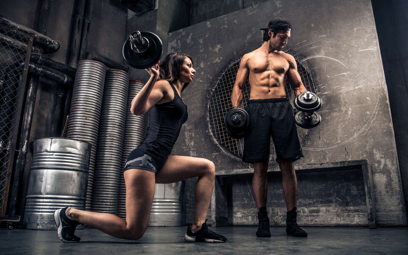 Le Crossfit comprend 52 exercices variés mélangeant musculation, haltérophilie et des mouvements gymniques. © oneinchpunch, fotolia