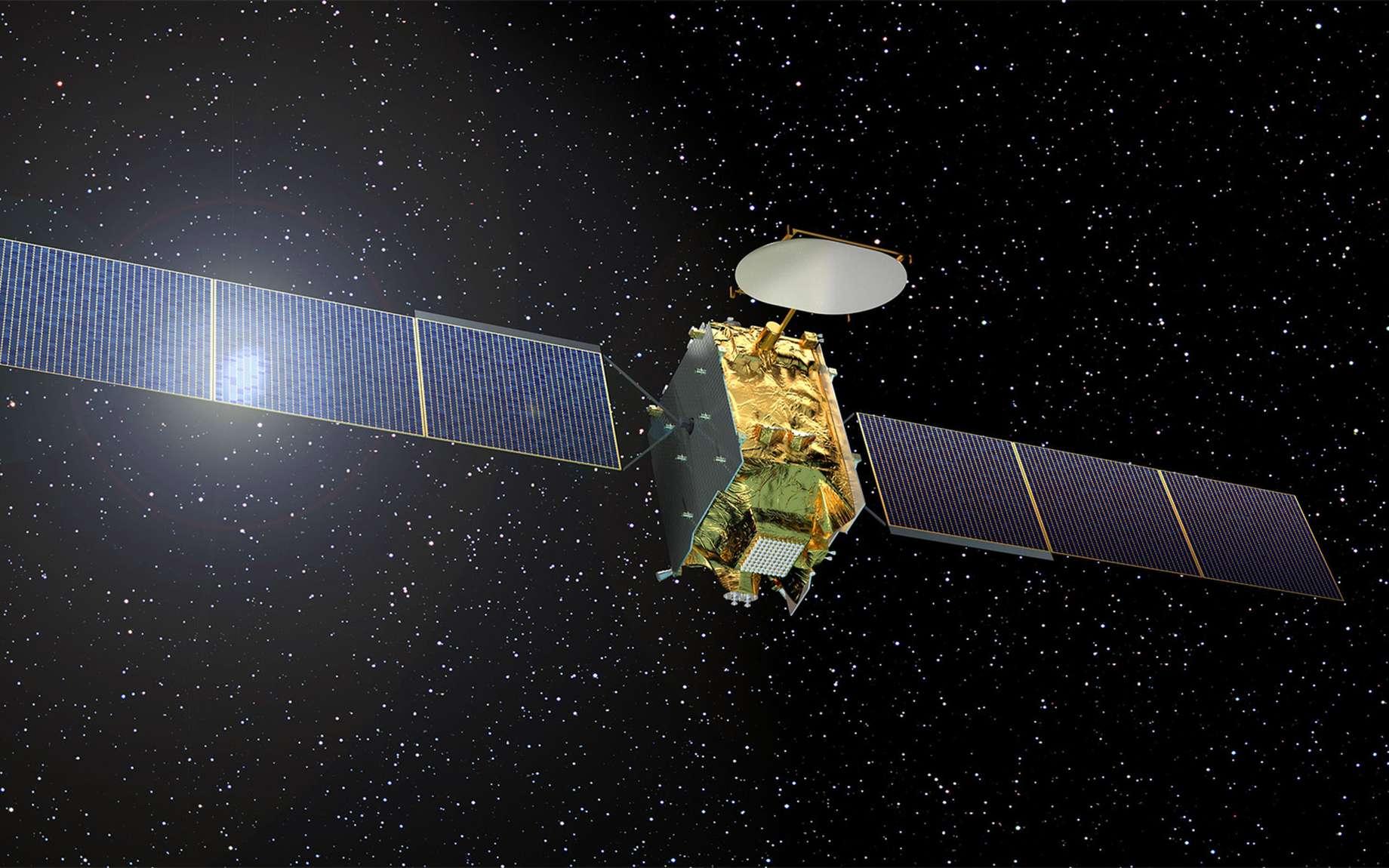 Le satellite Quantum d'Eutelsat qui sera construit par Airbus Defence and Space et lancé en 2019. © Airbus DS, Eutelsat