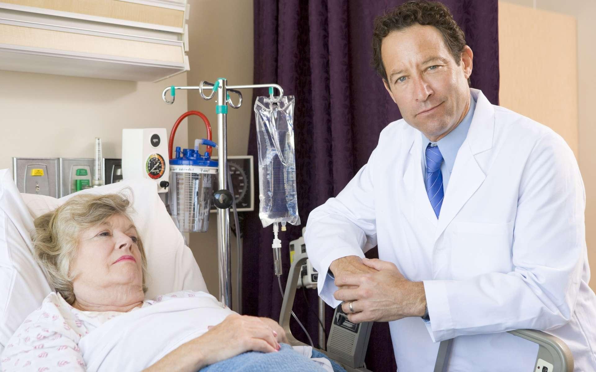 Les anti-VEGF visent à inhiber l'angiogenèse dans le traitement des cancers. © Phovoir