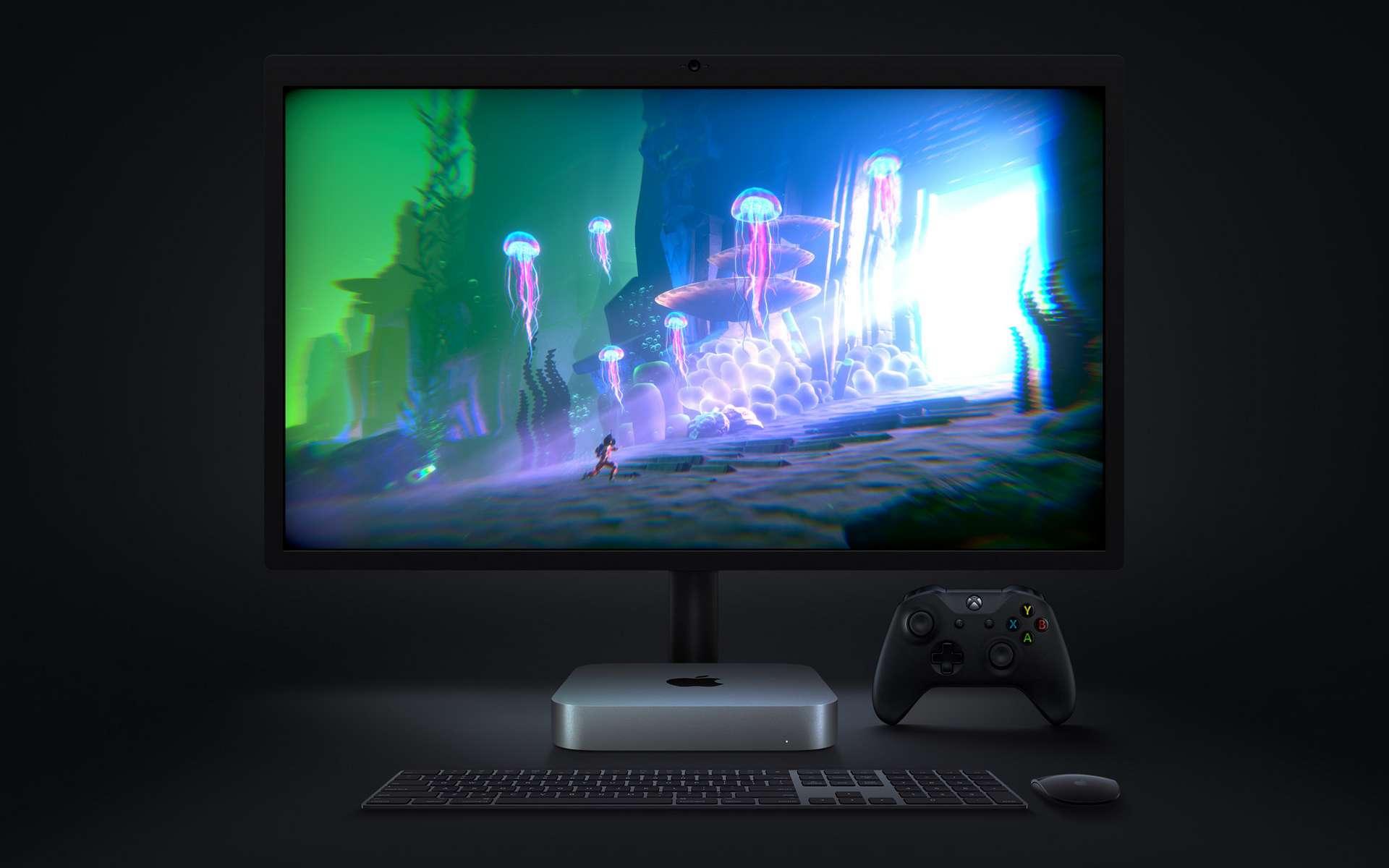 Le Mac Mini fait partie des ordinateurs qui seront équipés de ce nouveau chipset. © Apple