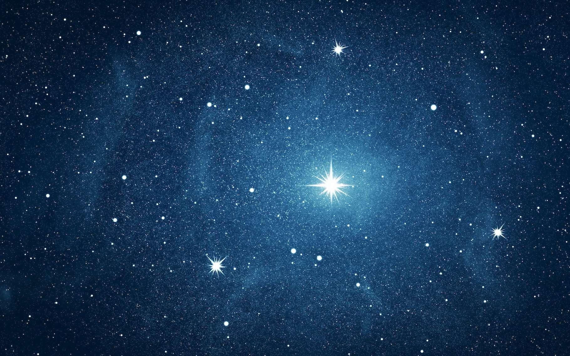 Vous vous demandez pourquoi les étoiles brillent ? Ce sont les réactions de fusion nucléaire qui leur permettent de scintiller dans notre ciel. © robert, Adobe Stock