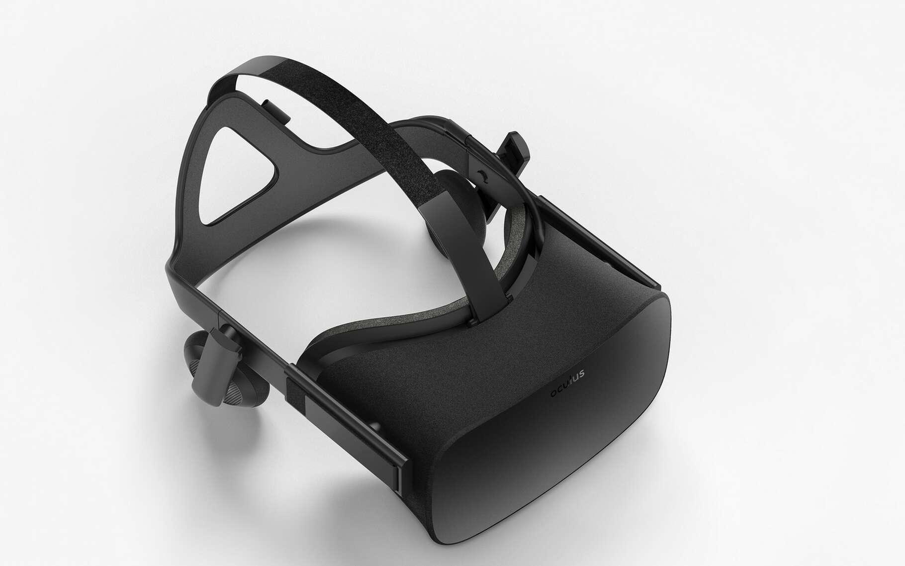 Le casque Oculus Rift est le fruit de quatre années de développement. © Oculus VR