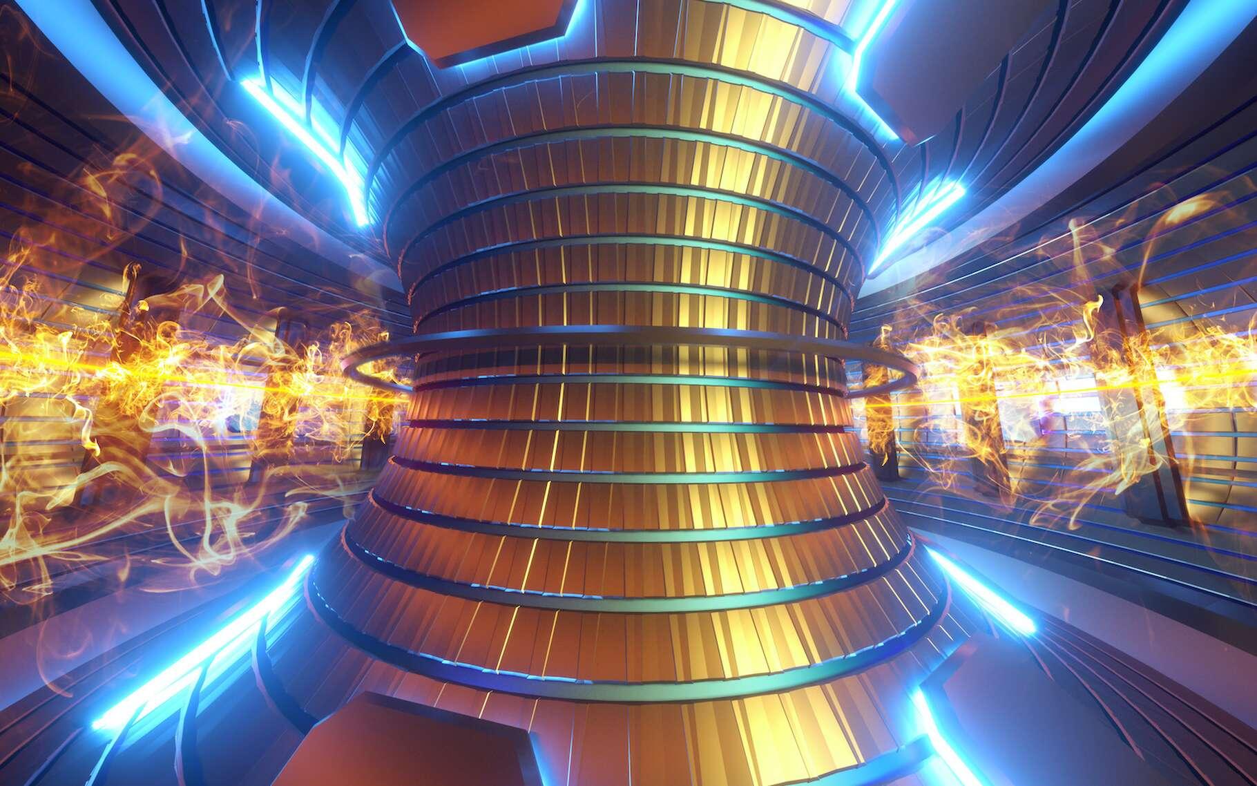 Un réacteur à fusion nucléaire pourrait fournir une énergie propre, décarbonée et quasi illimitée. © Aliaksandr Marko, Adobe Stock