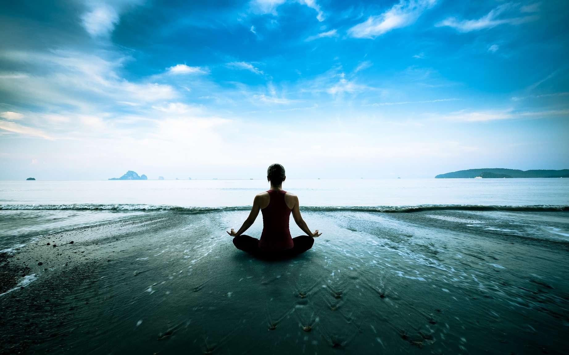 Des études avaient déjà montré que la méditation agit sur le cerveau. Désormais, il semble qu'elle agisse également sur l'épigénome. © Patrick Foto, Shutterstock