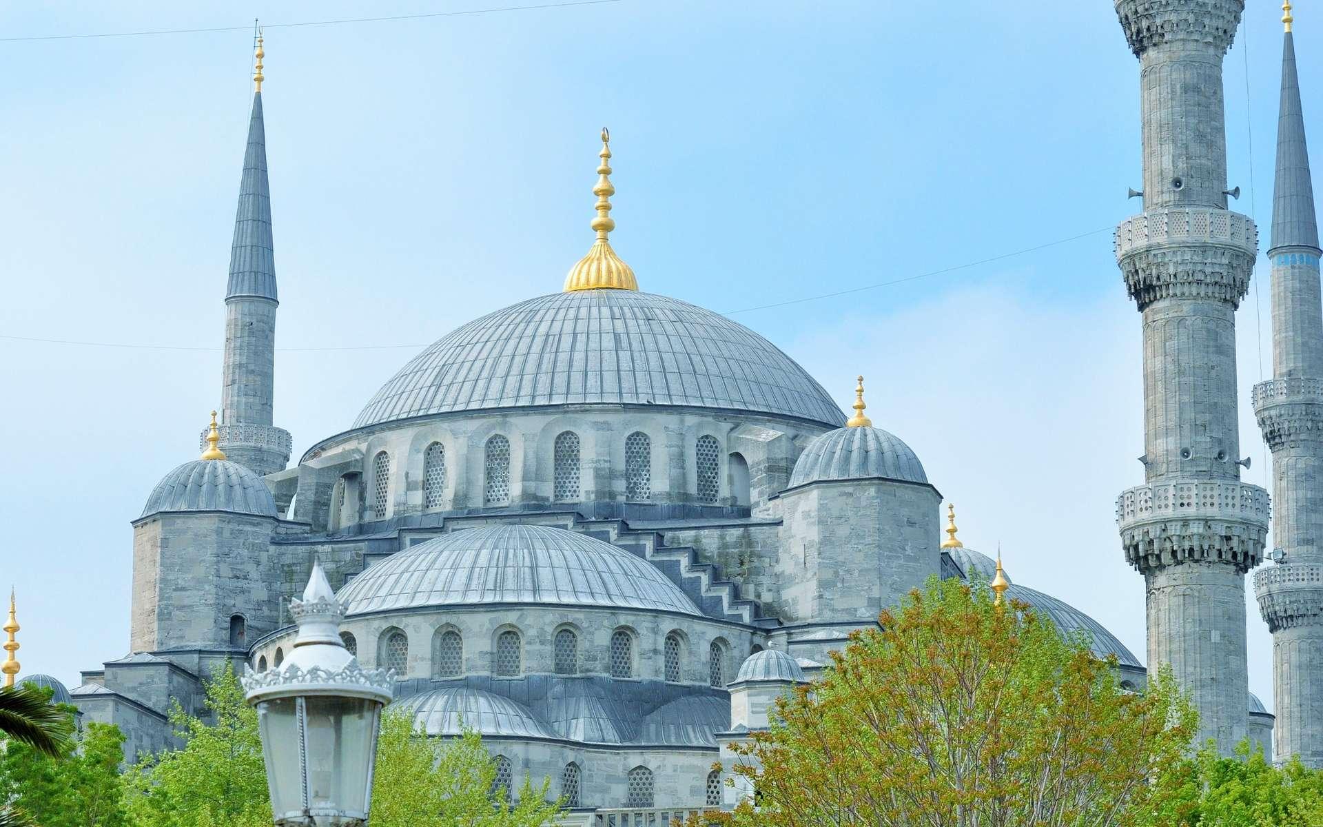 Visitez la Mosquée bleue, à Istanbul. © NadineDoerle, Pixabay, DP