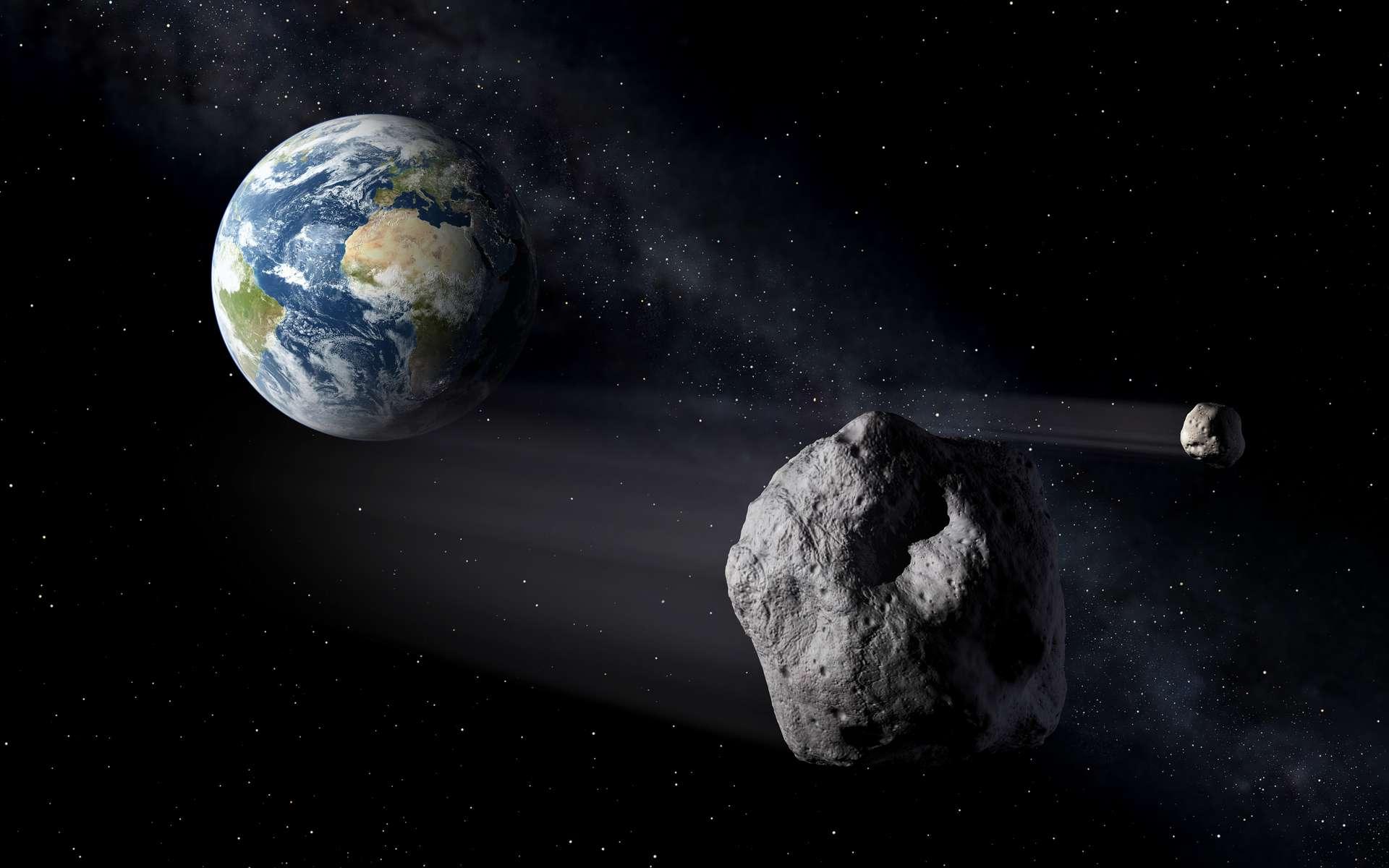 On dénombre plus de 523.000 astéroïdes, dont la taille varie de de quelques centimètres à plusieurs kilomètres. © ESA, P.Carril