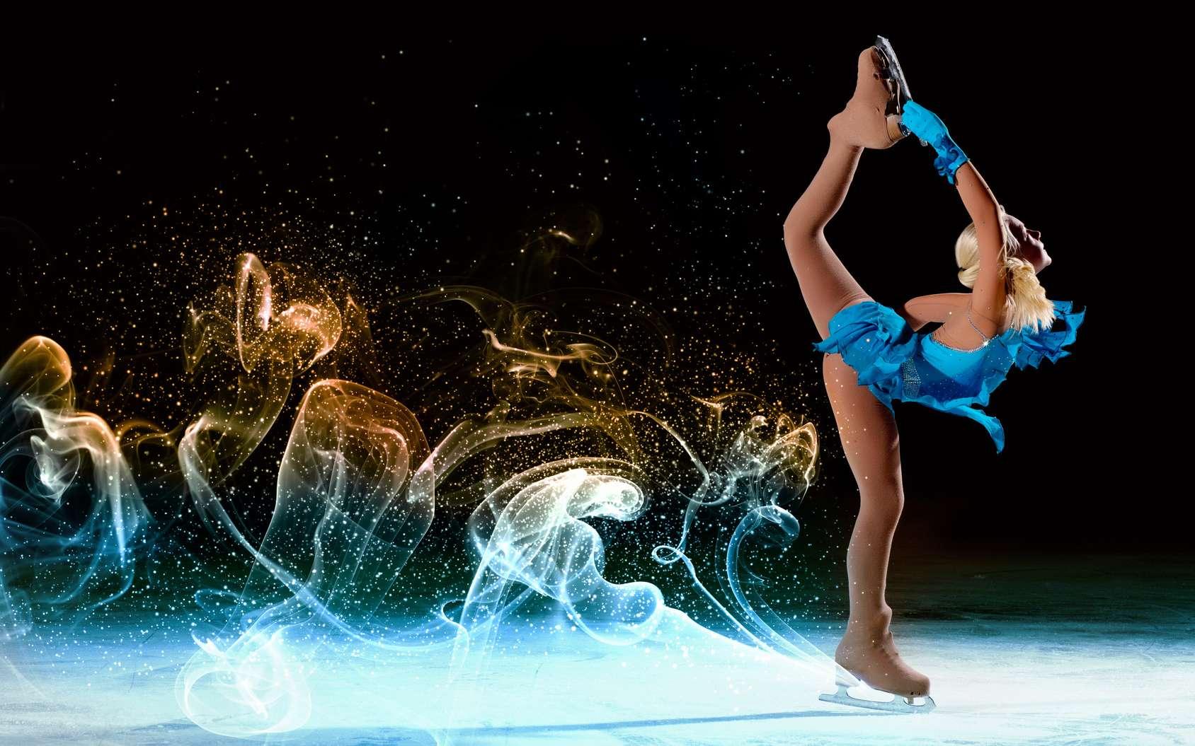 Mieux décrypter les sauts du patinage artistique. © Sergey Nivens, fotolia