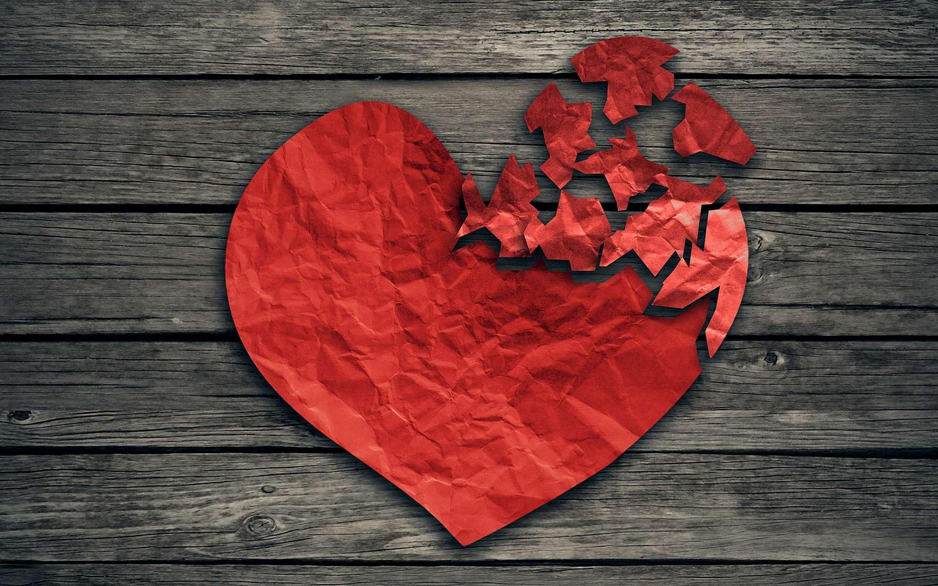 Une émotion heureuse trop forte peut aussi malmener le cœur... © pathdoc, Shutterstock