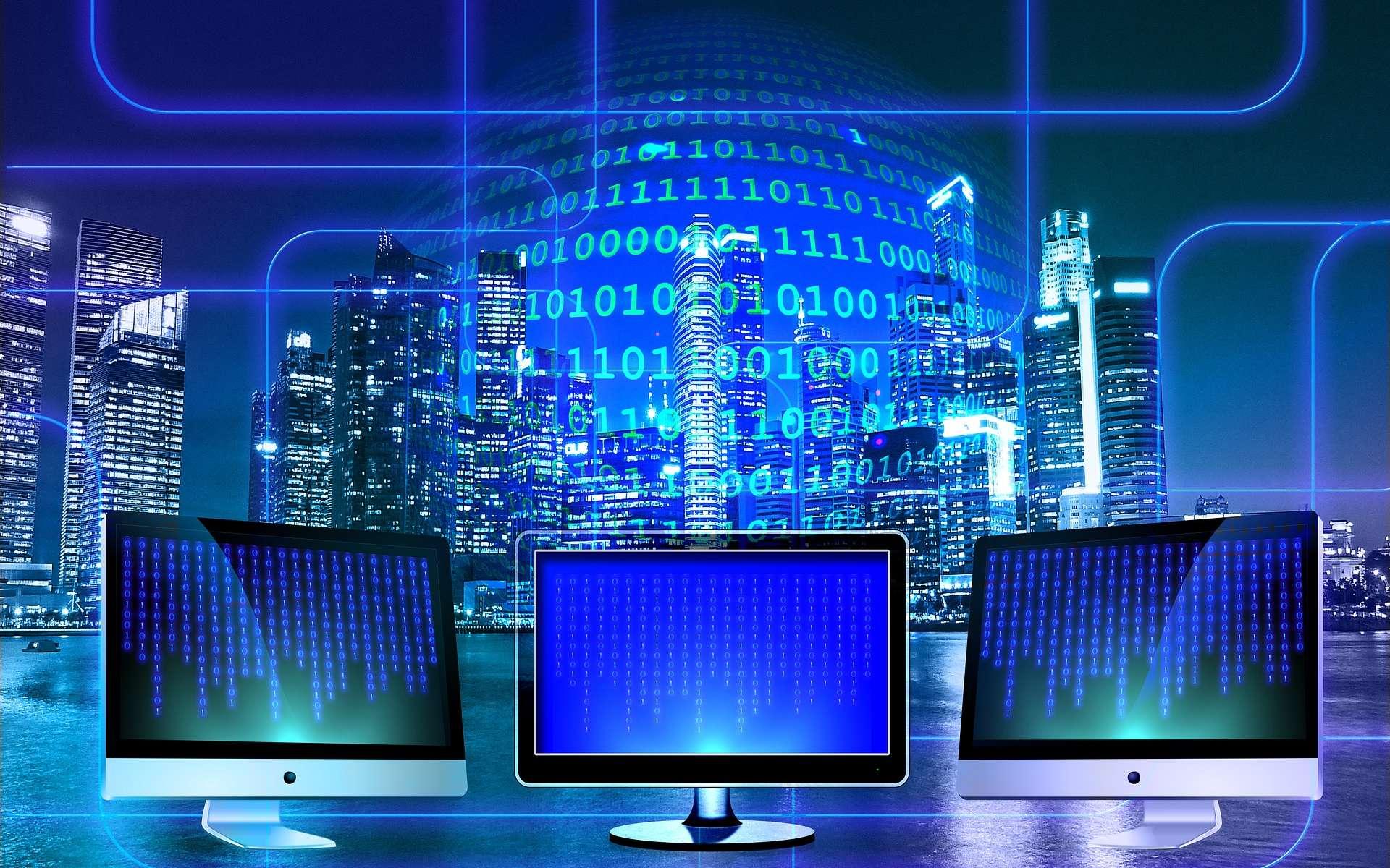 Le big data, de nombreux métiers, un secteur d'avenir attractif pour les diplômés. © Geralt, Pixabay2