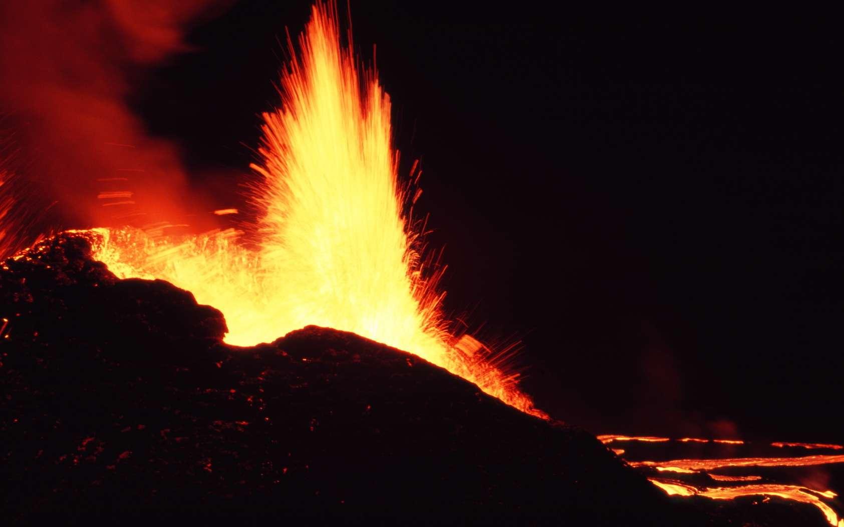 Volcanisme : qu'est-ce qu'un point chaud ? © Prod. Numérik, fotolia