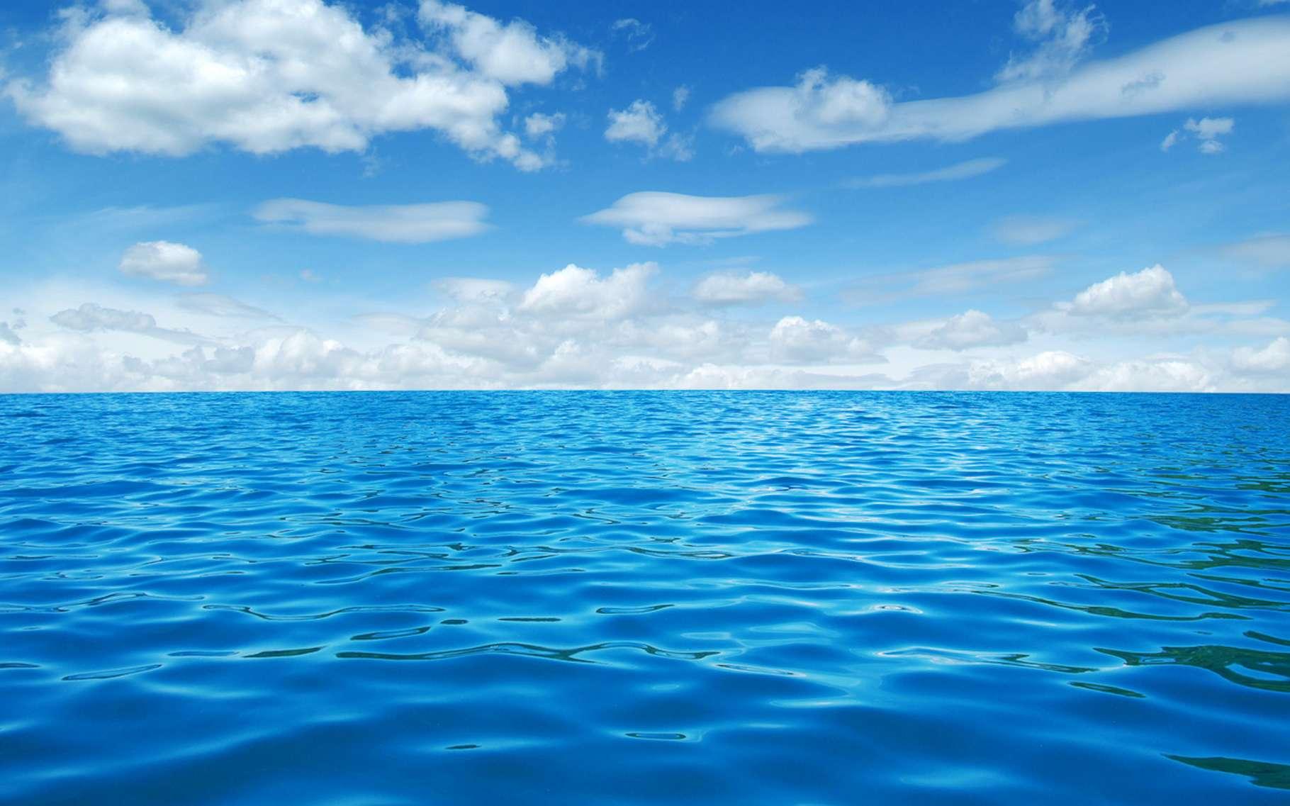 Si les réservoirs de gaz à effet de serre sous-marins venaient à être déséquilibrés par une augmentation de la température des océans, ils pourraient libérer une grande quantité de carbone dans l'atmosphère. © Alekss, Fotolia