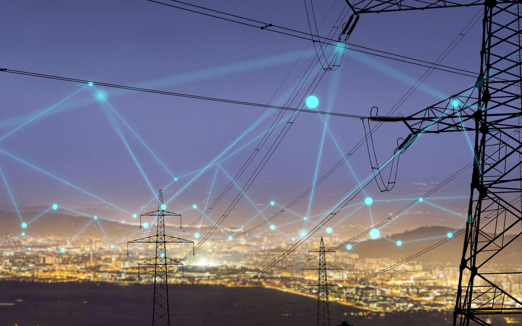 Les réseaux électriques sont au cœur de la transition énergétique. Dans un futur proche et pour intégrer de nouvelles productions renouvelables et décentralisées ainsi que de nouveaux usages, ils devront être capables de plus d'agilité et se montrer plus intelligents. © urbans78, Adobe Stock