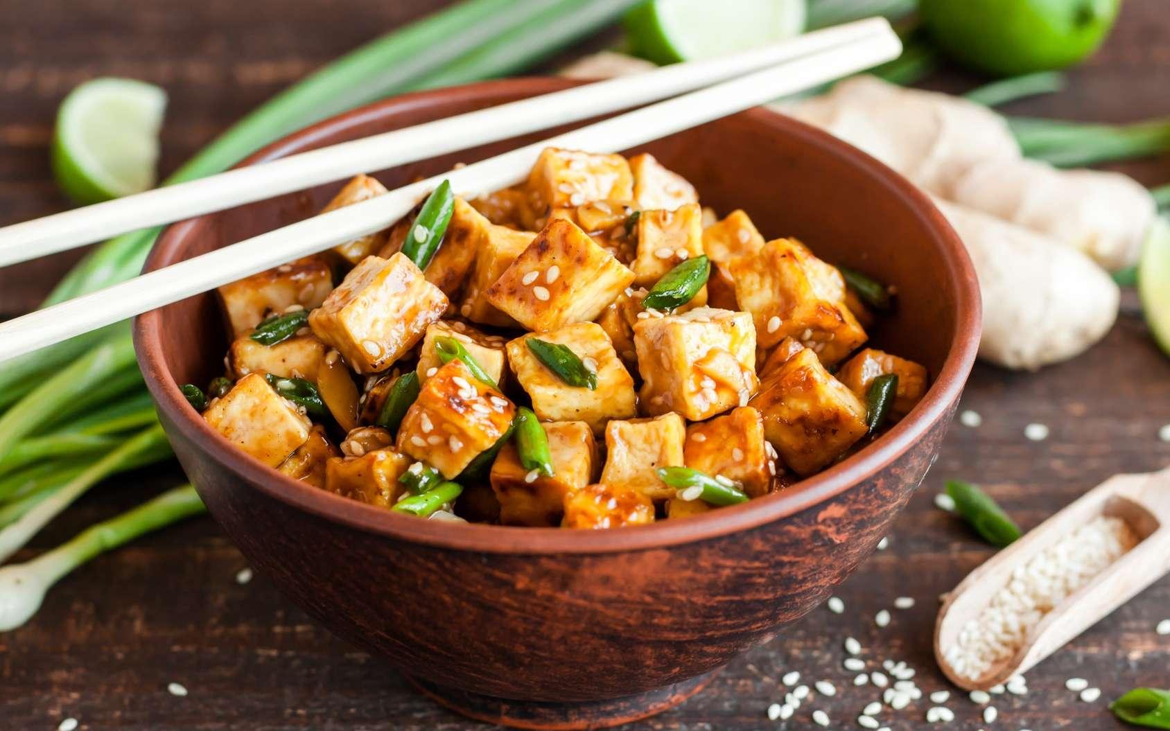 Le tofu est originaire d'Asie. © yuliiaholovchenko, Fotolia