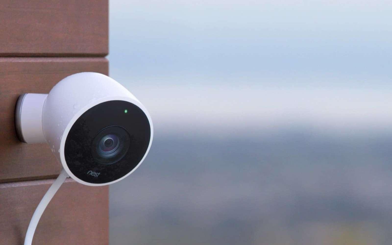 En accédant à l'activité d'un réseau domestique, un pirate peut identifier le flux d'une caméra et savoir si des données sont envoyées. © Nest