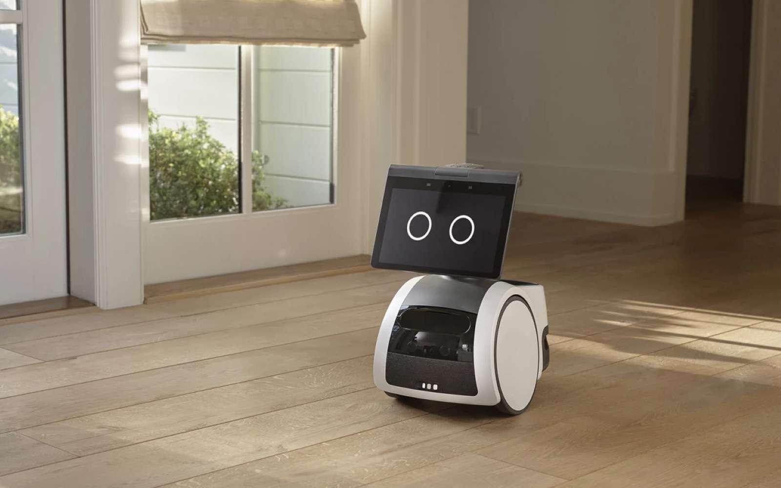 Astro est un robot de compagnie, mais aussi un outil de surveillance pour sécuriser le domicile. © Amazon