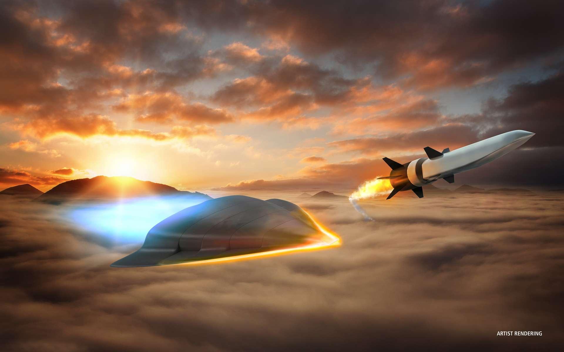 Les matériaux à faible dilatation thermique sont utilisées dans les avions ou les fusées. © Raytheon